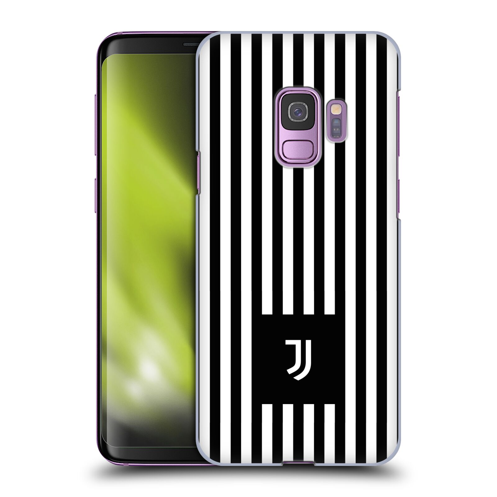 Plastové pouzdro na mobil Samsung Galaxy S9 - Head Case - Juventus FC - Nové logo - Pruhy
