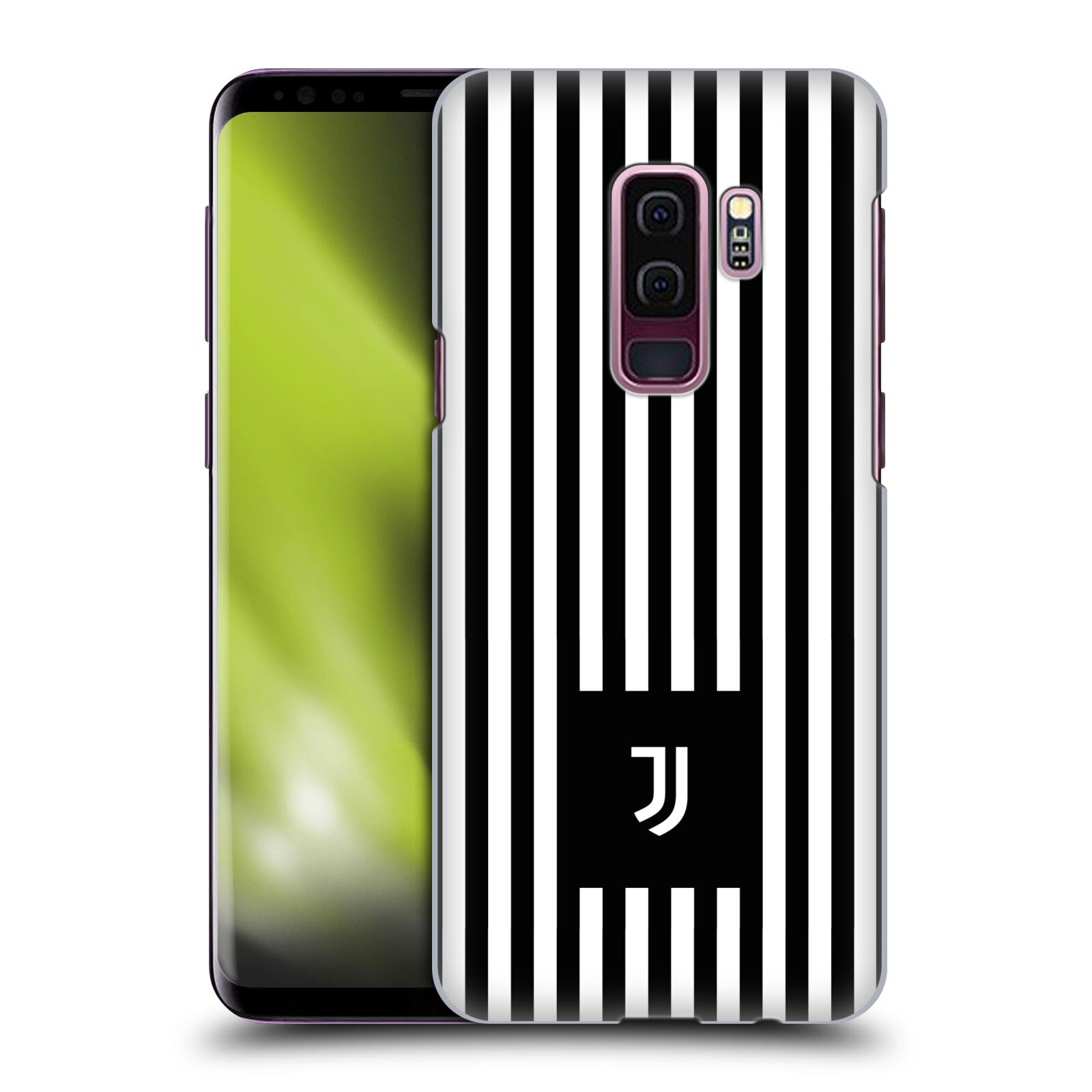 Plastové pouzdro na mobil Samsung Galaxy S9 Plus - Head Case - Juventus FC - Nové logo - Pruhy