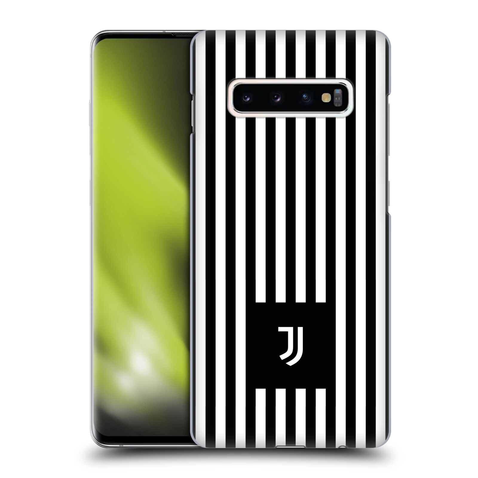 Plastové pouzdro na mobil Samsung Galaxy S10 Plus - Head Case - Juventus FC - Nové logo - Pruhy