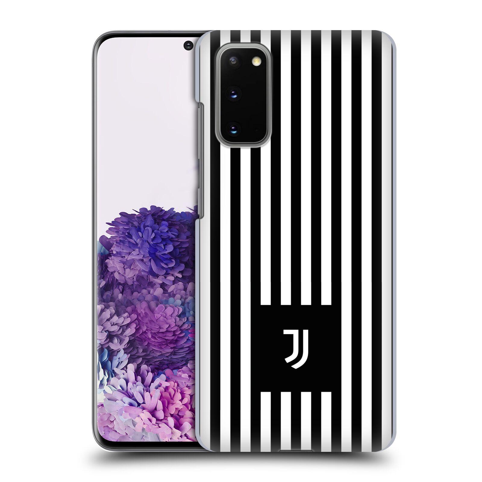 Plastové pouzdro na mobil Samsung Galaxy S20 - Head Case - Juventus FC - Nové logo - Pruhy