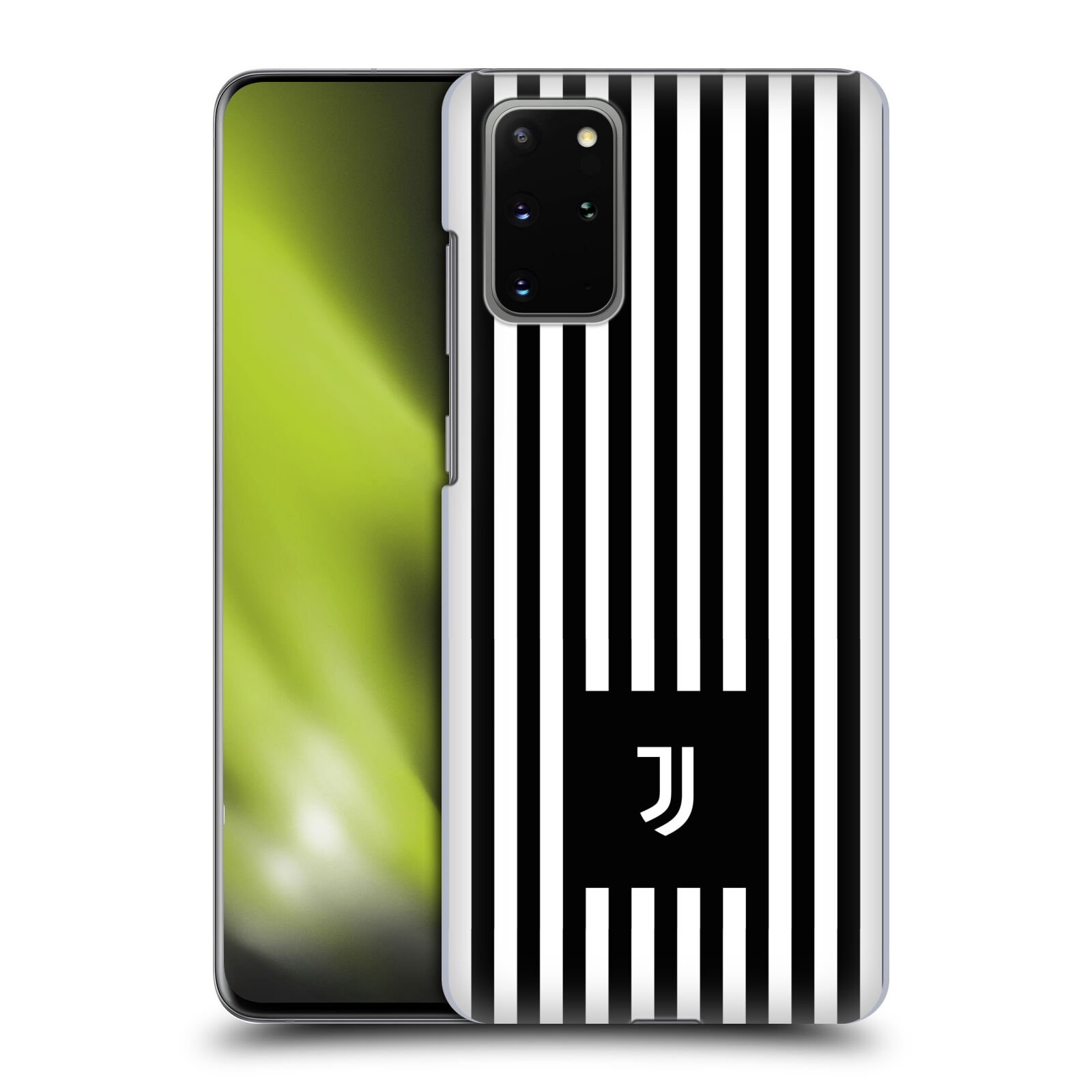 Plastové pouzdro na mobil Samsung Galaxy S20 Plus - Head Case - Juventus FC - Nové logo - Pruhy