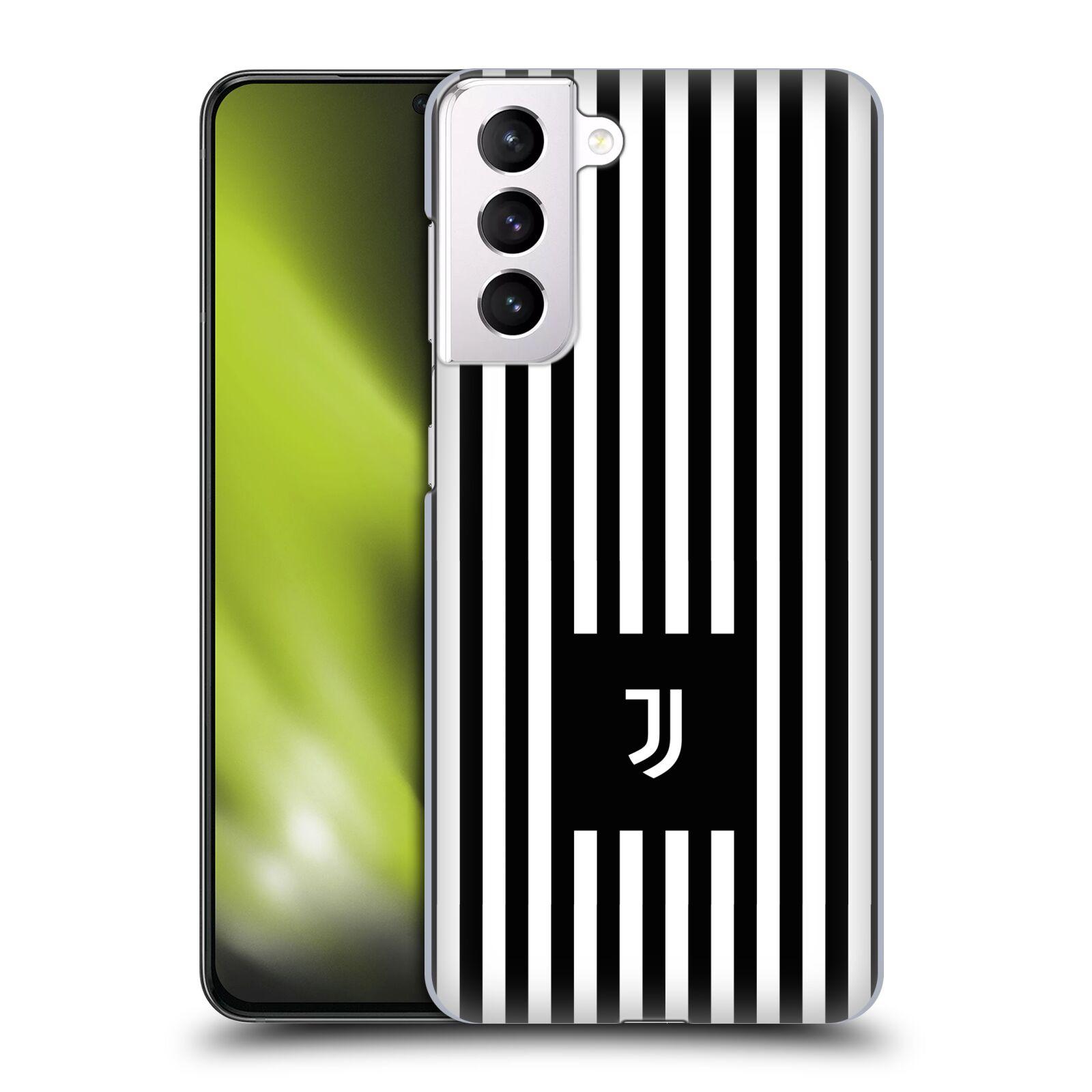 Plastové pouzdro na mobil Samsung Galaxy S21 Plus 5G - Head Case - Juventus FC - Nové logo - Pruhy