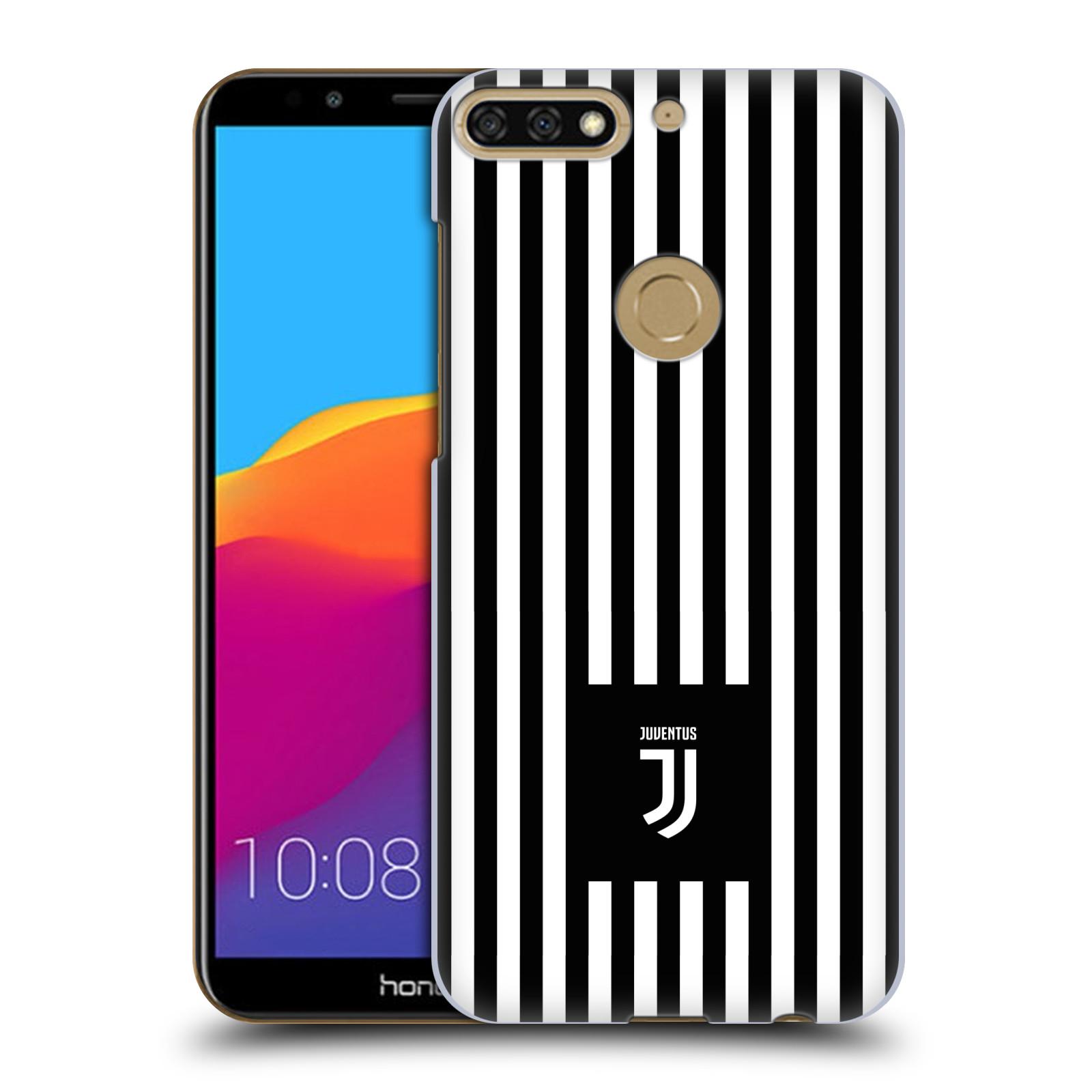 Plastové pouzdro na mobil Huawei Y7 Prime 2018 - Head Case - Juventus FC - Nové logo - Pruhy