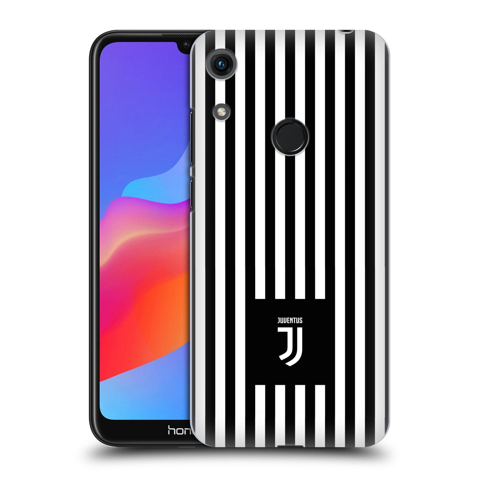 Plastové pouzdro na mobil Honor 8A - Head Case - Juventus FC - Nové logo - Pruhy