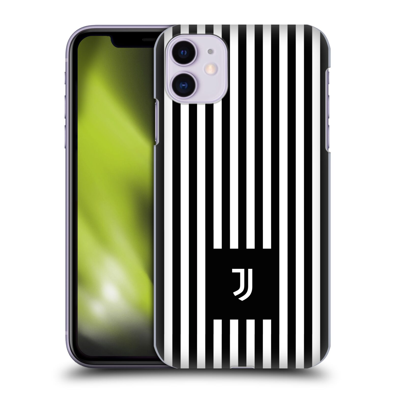 Plastové pouzdro na mobil Apple iPhone 11 - Head Case - Juventus FC - Nové logo - Pruhy