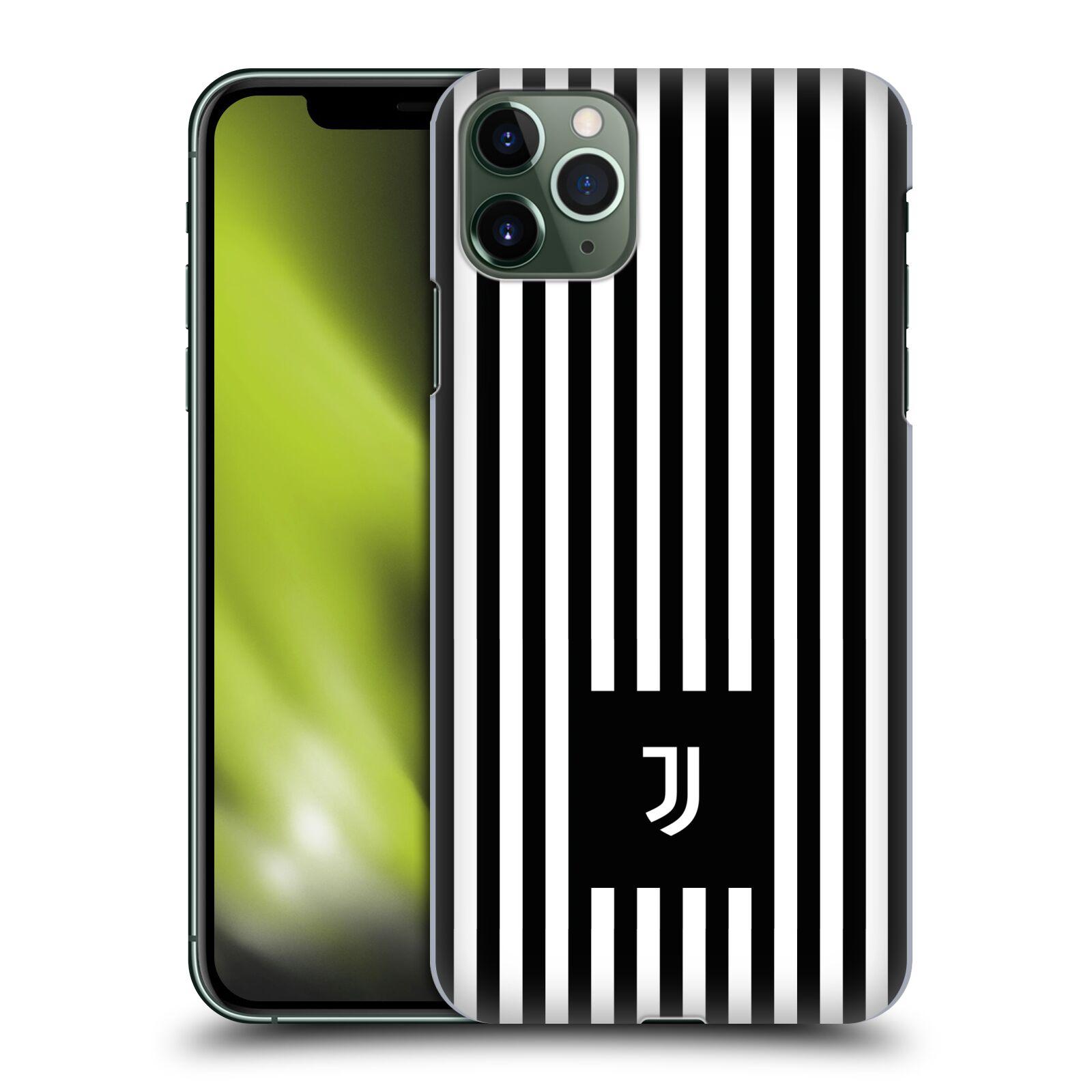 Plastové pouzdro na mobil Apple iPhone 11 Pro Max - Head Case - Juventus FC - Nové logo - Pruhy