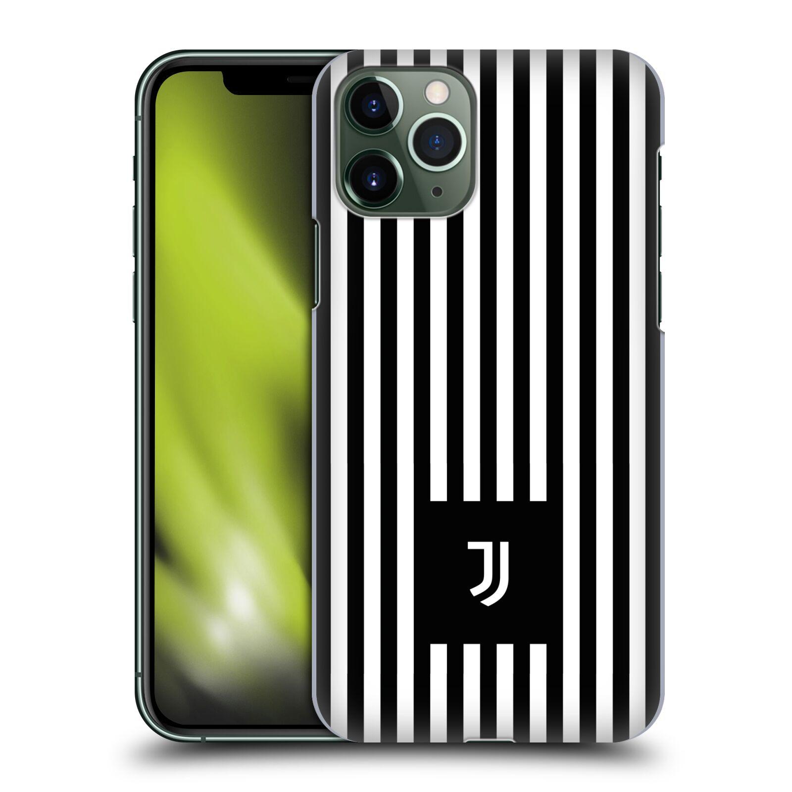 Plastové pouzdro na mobil Apple iPhone 11 Pro - Head Case - Juventus FC - Nové logo - Pruhy