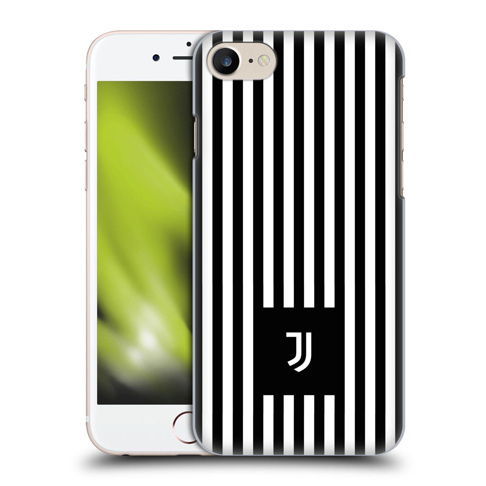 Plastové pouzdro na mobil Apple iPhone SE (2020) - Head Case - Juventus FC - Nové logo - Pruhy