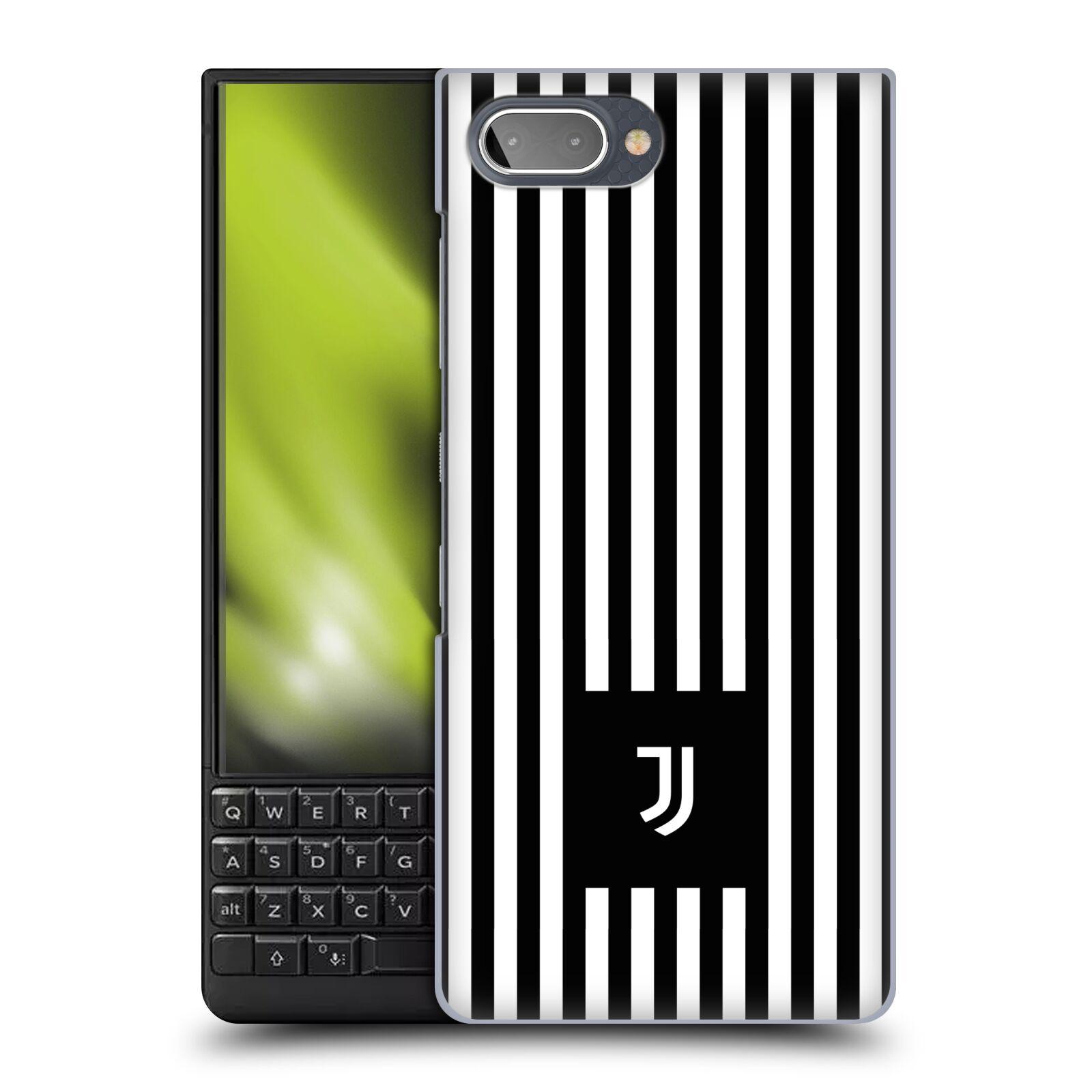 Plastové pouzdro na mobil Blackberry Key 2 - Head Case - Juventus FC - Nové logo - Pruhy
