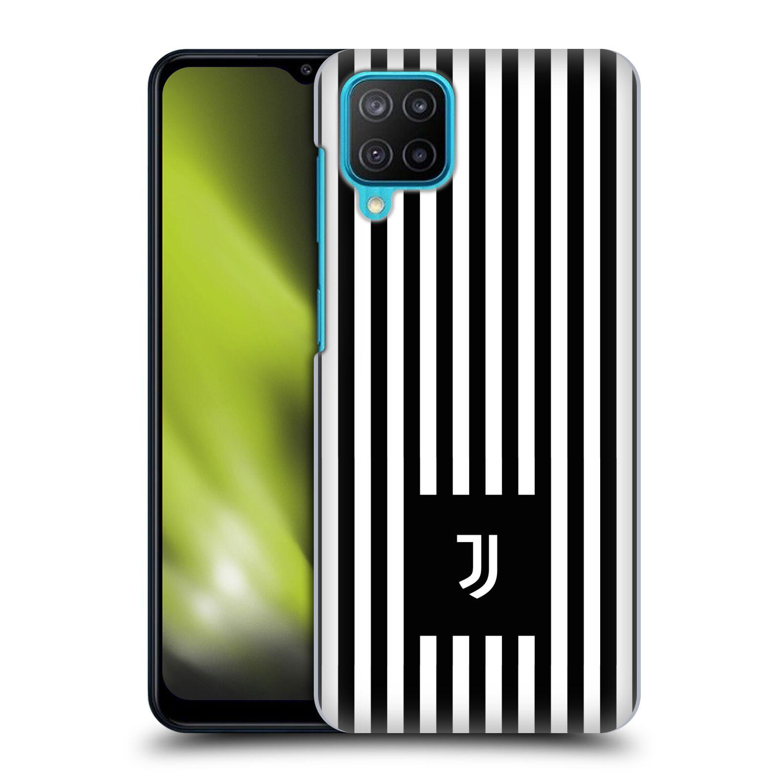 Plastové pouzdro na mobil Samsung Galaxy M12 - Head Case - Juventus FC - Nové logo - Pruhy