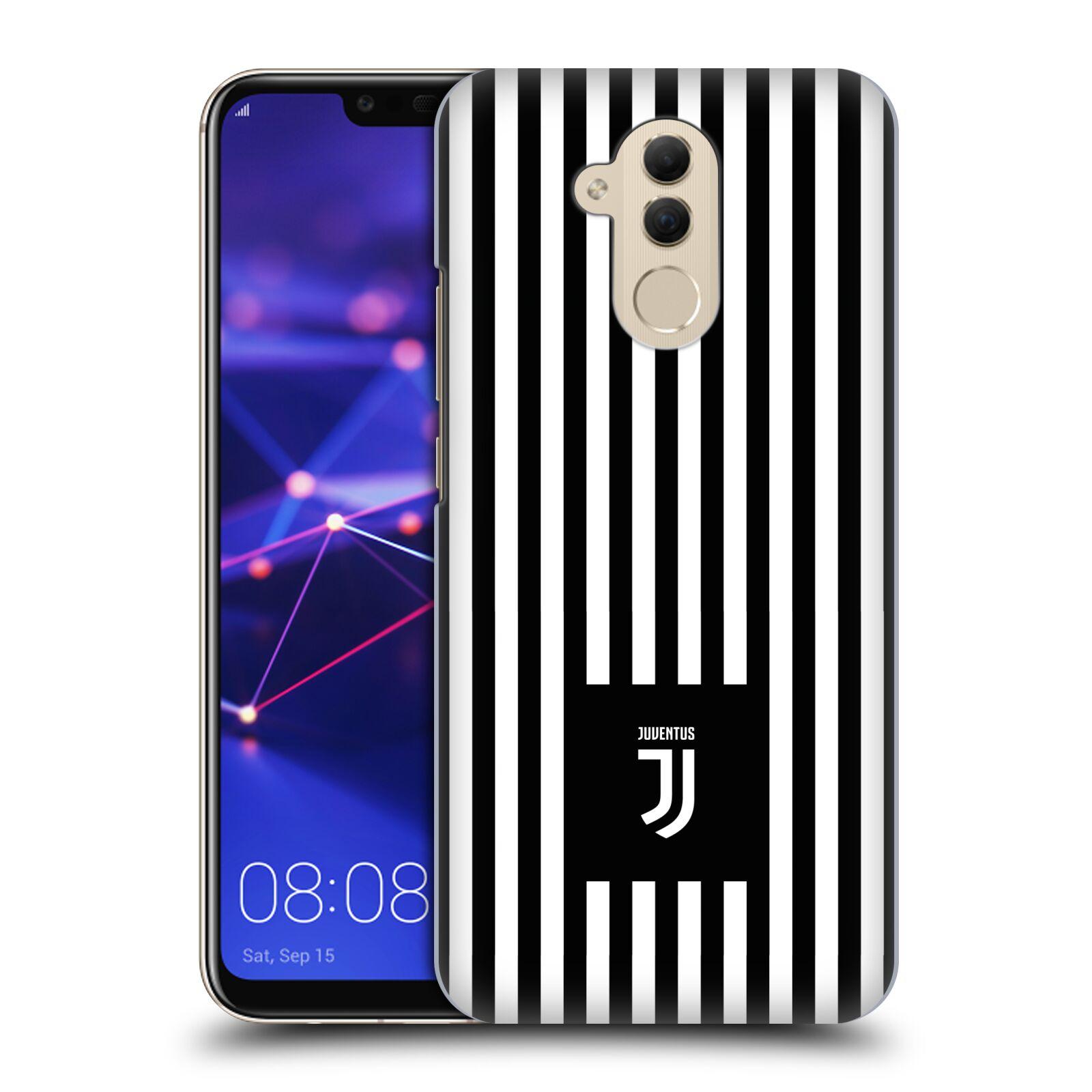 Plastové pouzdro na mobil Huawei Mate 20 Lite - Head Case - Juventus FC - Nové logo - Pruhy
