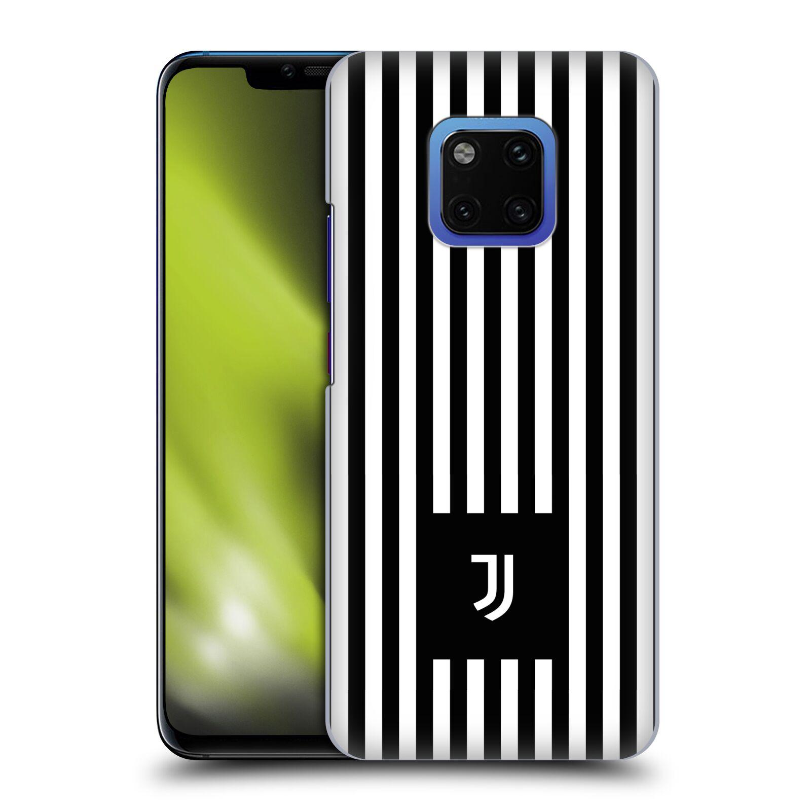 Plastové pouzdro na mobil Huawei Mate 20 Pro - Head Case - Juventus FC - Nové logo - Pruhy