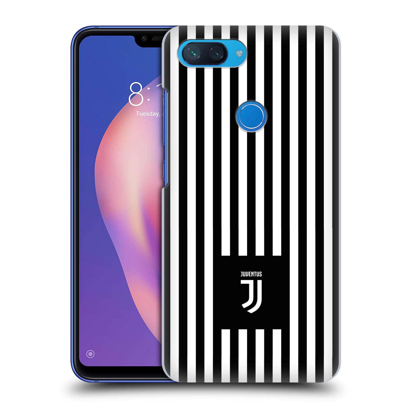 Plastové pouzdro na mobil Xiaomi Mi 8 Lite - Head Case - Juventus FC - Nové logo - Pruhy