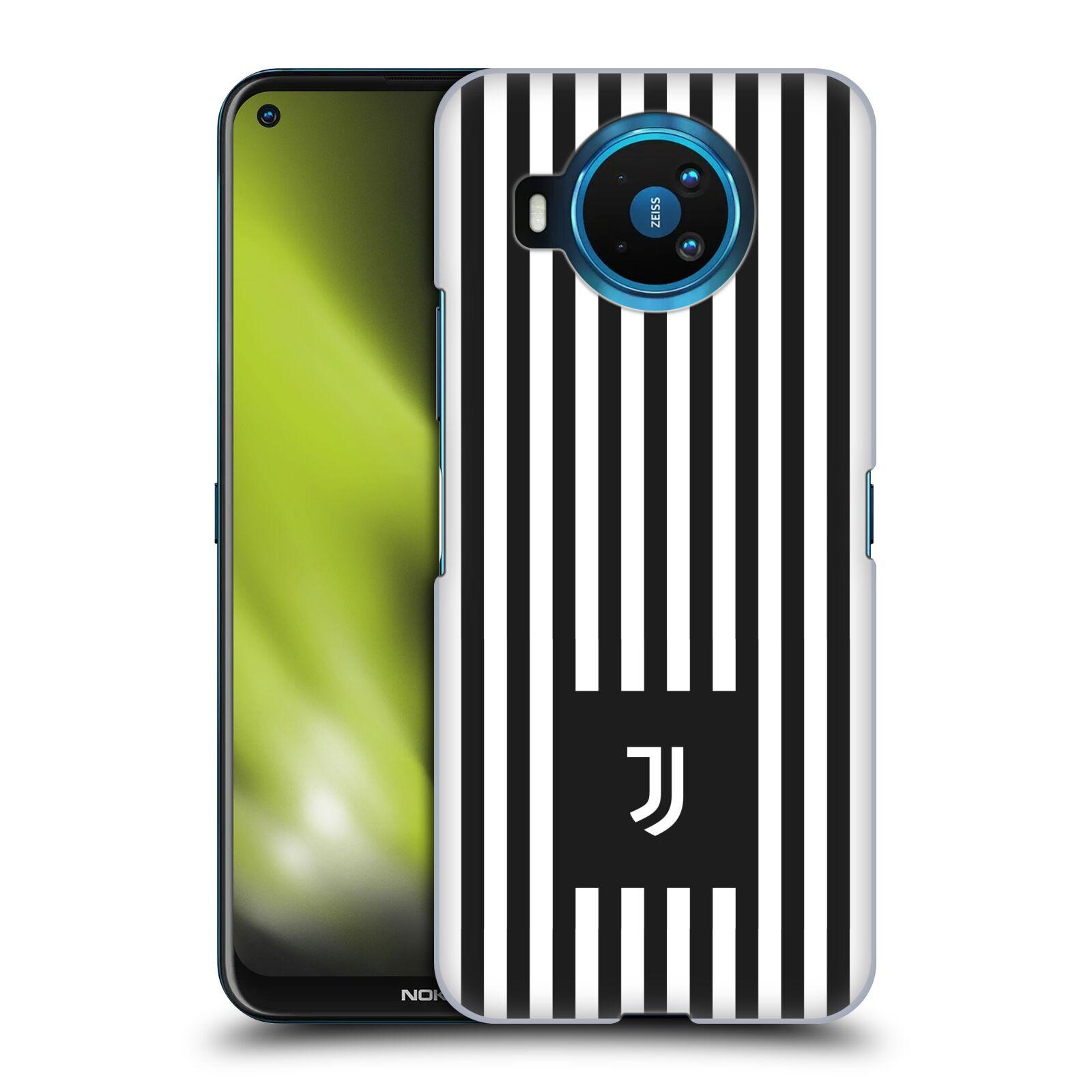 Plastové pouzdro na mobil Nokia 8.3 5G - Head Case - Juventus FC - Nové logo - Pruhy