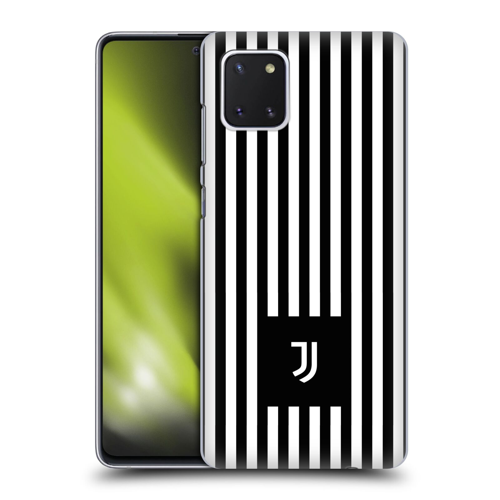 Plastové pouzdro na mobil Samsung Galaxy Note 10 Lite - Head Case - Juventus FC - Nové logo - Pruhy