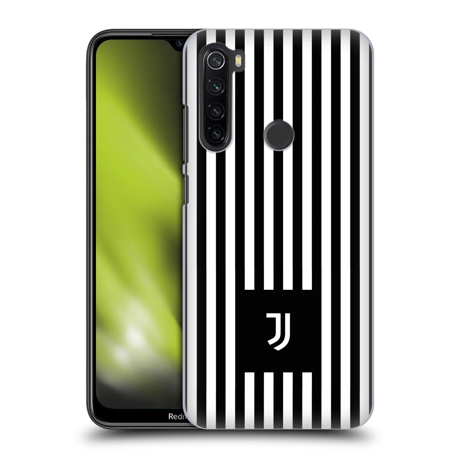 Plastové pouzdro na mobil Xiaomi Redmi Note 8T - Head Case - Juventus FC - Nové logo - Pruhy