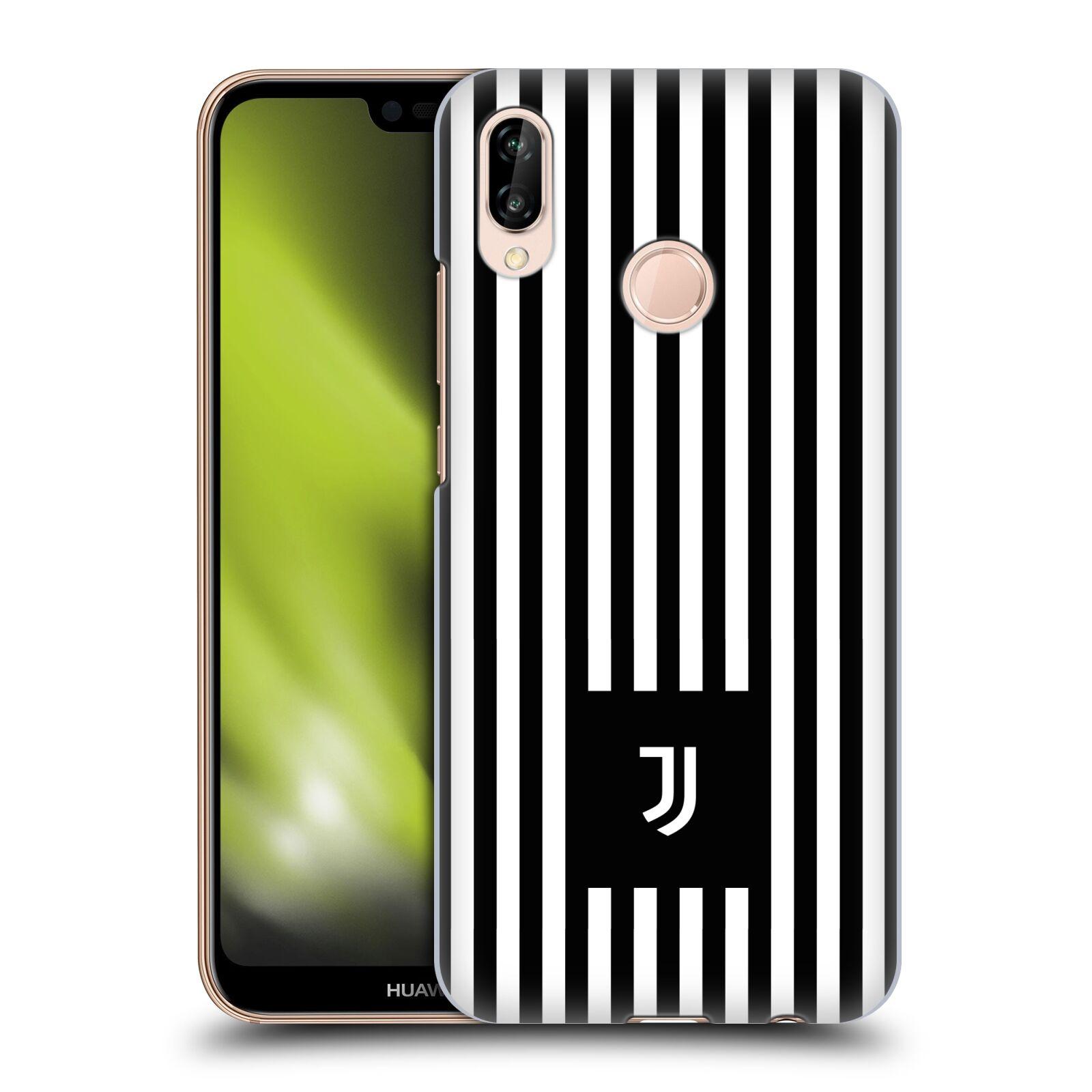 Plastové pouzdro na mobil Huawei P20 Lite - Head Case - Juventus FC - Nové logo - Pruhy