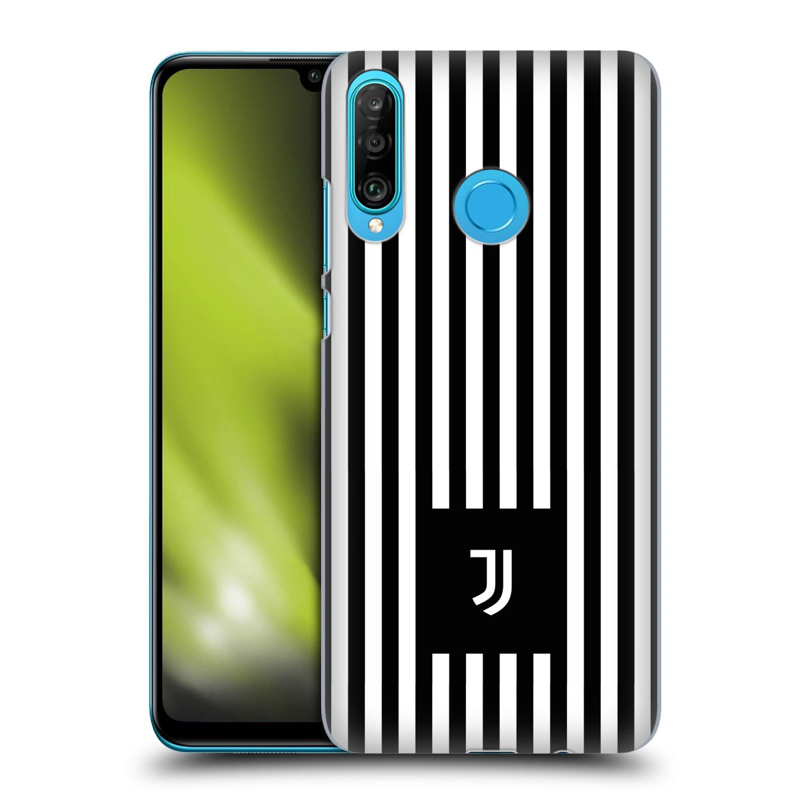 Plastové pouzdro na mobil Huawei P30 Lite - Head Case - Juventus FC - Nové logo - Pruhy