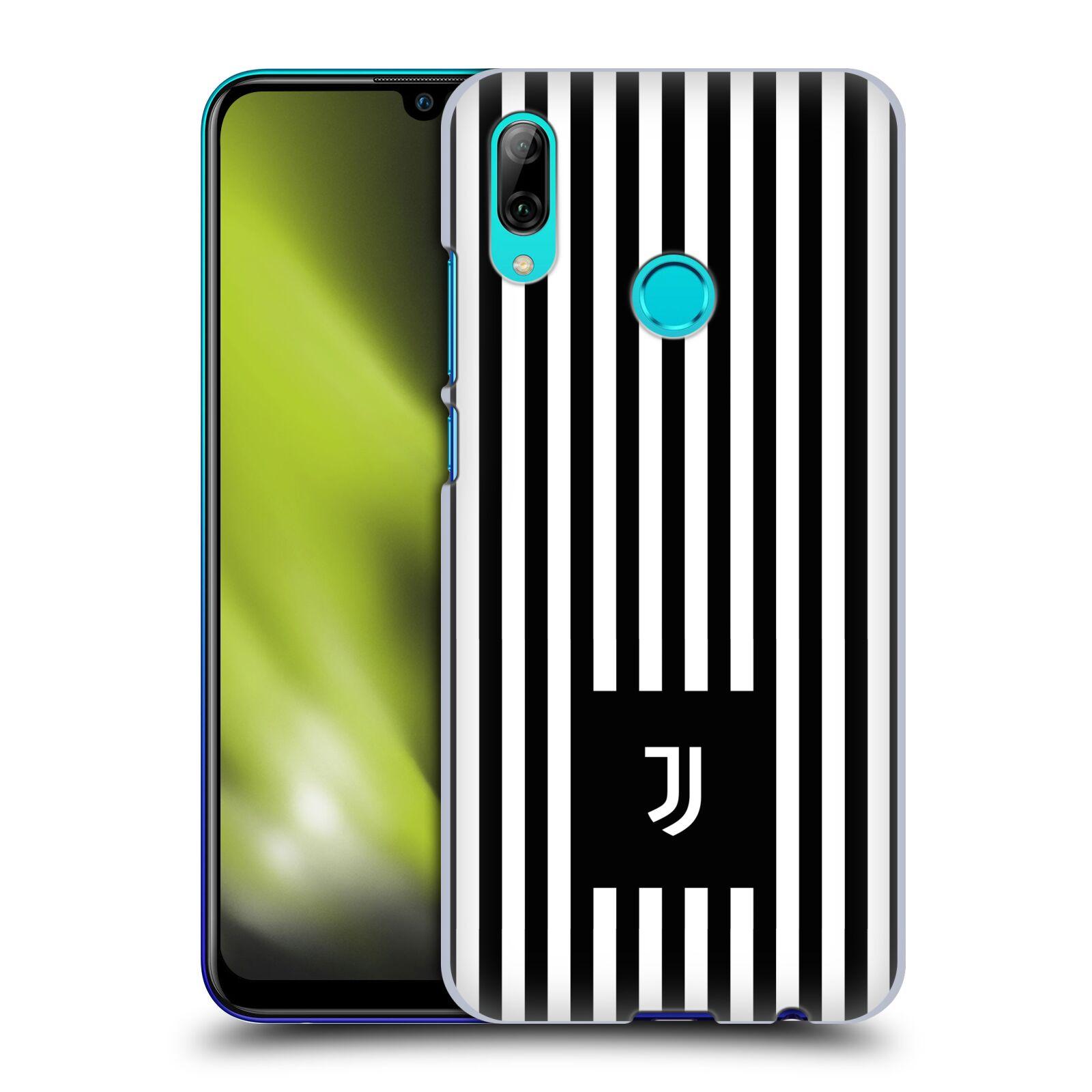 Plastové pouzdro na mobil Huawei P Smart (2019) - Head Case - Juventus FC - Nové logo - Pruhy