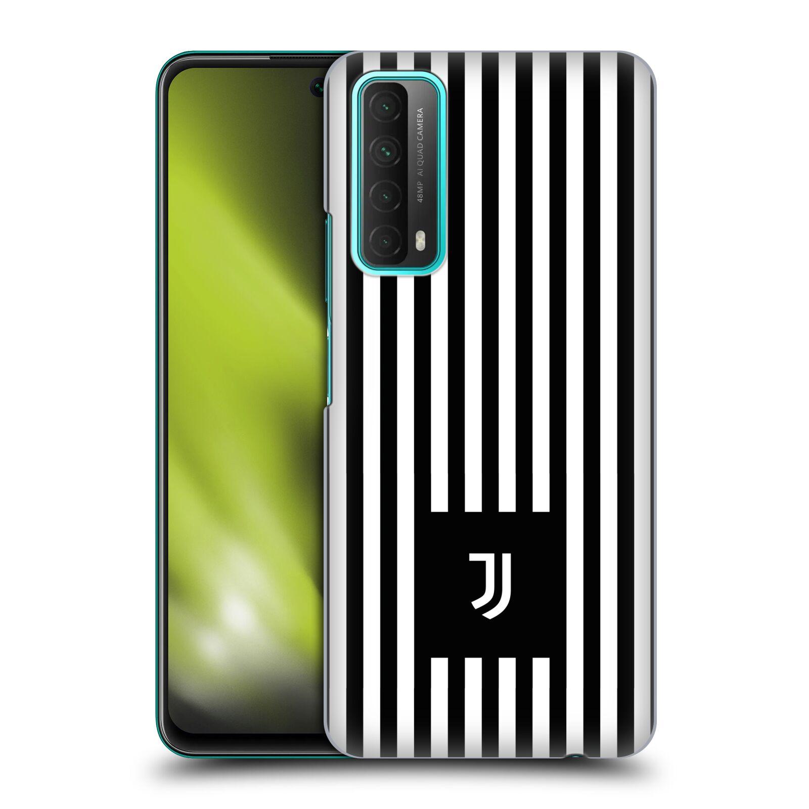 Plastové pouzdro na mobil Huawei P Smart (2021) - Head Case - Juventus FC - Nové logo - Pruhy