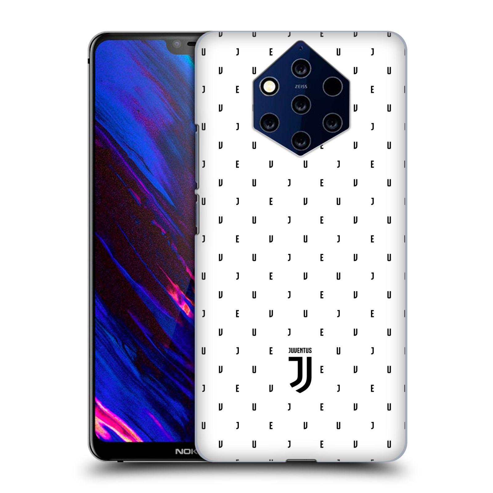 Plastové pouzdro na mobil Nokia 9 PureView - Head Case - Juventus FC - Nové logo - Decentní