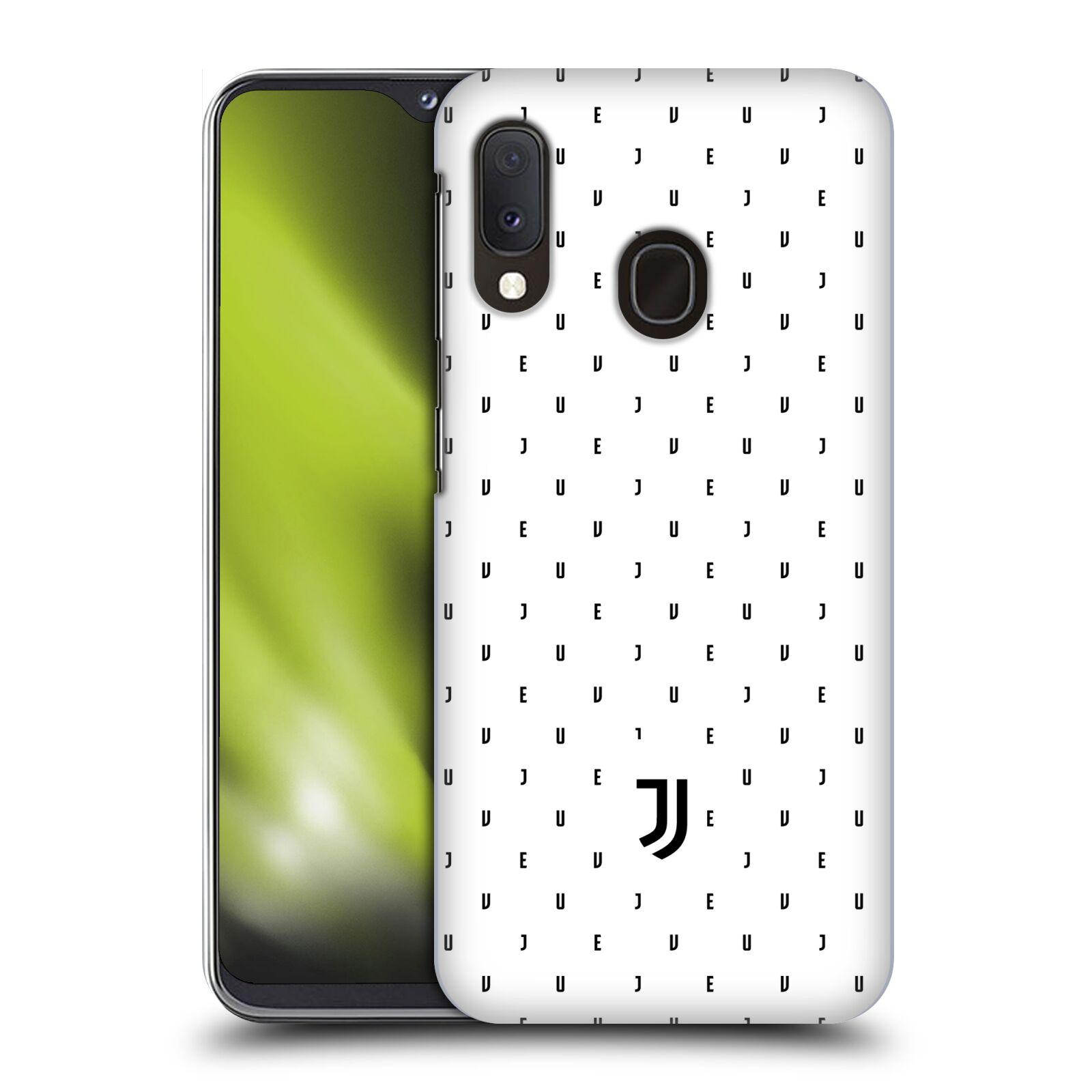 Plastové pouzdro na mobil Samsung Galaxy A20e - Head Case - Juventus FC - Nové logo - Decentní