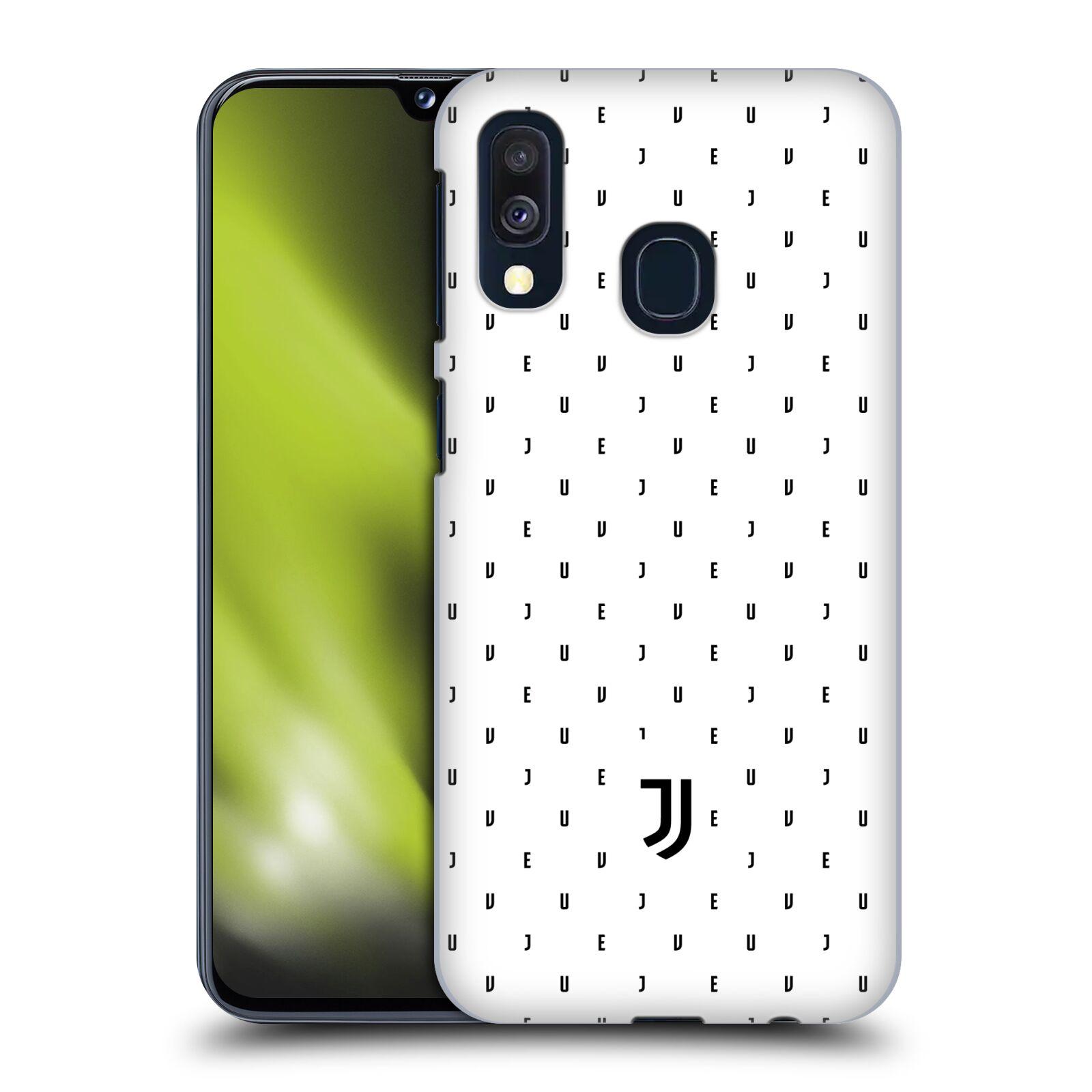 Plastové pouzdro na mobil Samsung Galaxy A40 - Head Case - Juventus FC - Nové logo - Decentní