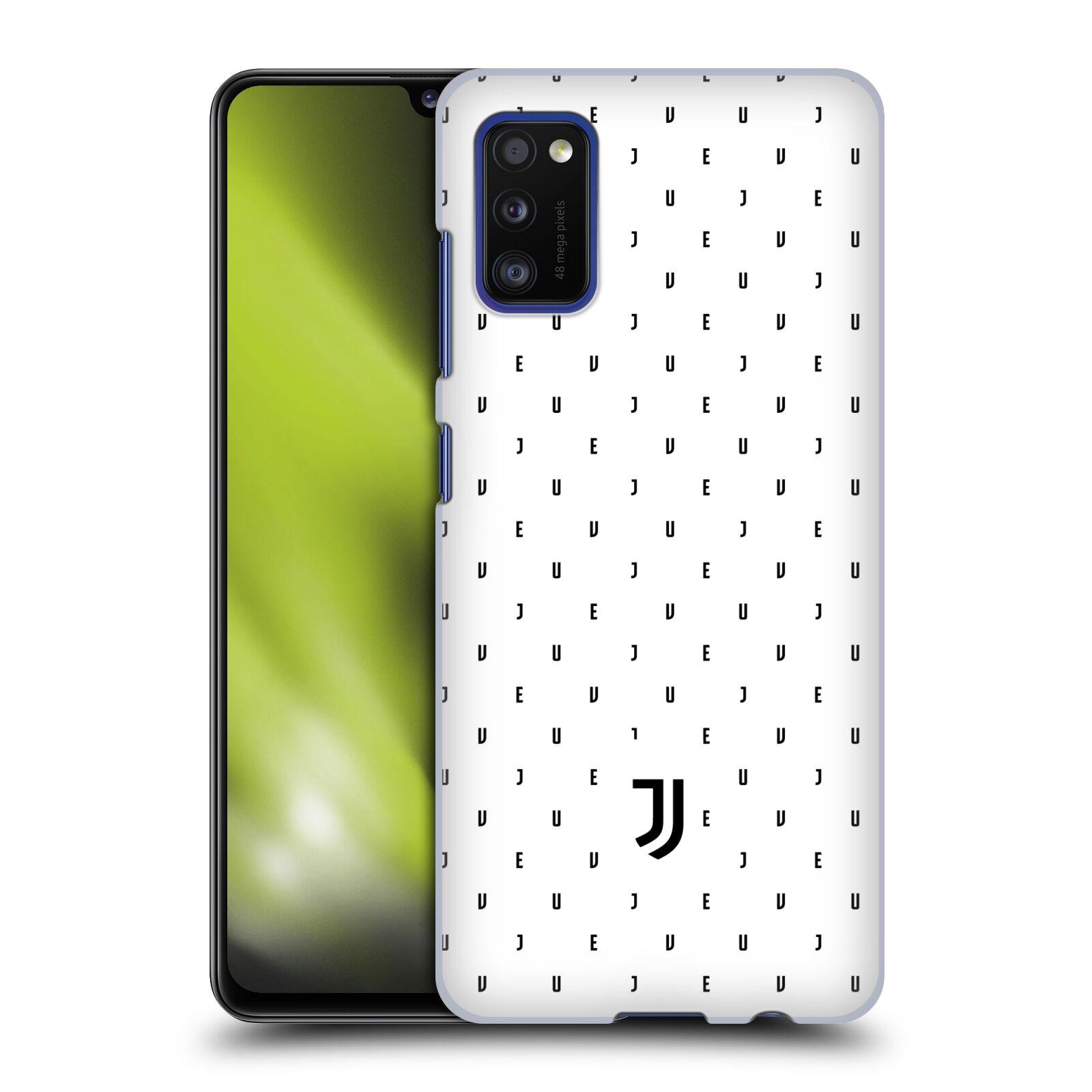 Plastové pouzdro na mobil Samsung Galaxy A41 - Head Case - Juventus FC - Nové logo - Decentní