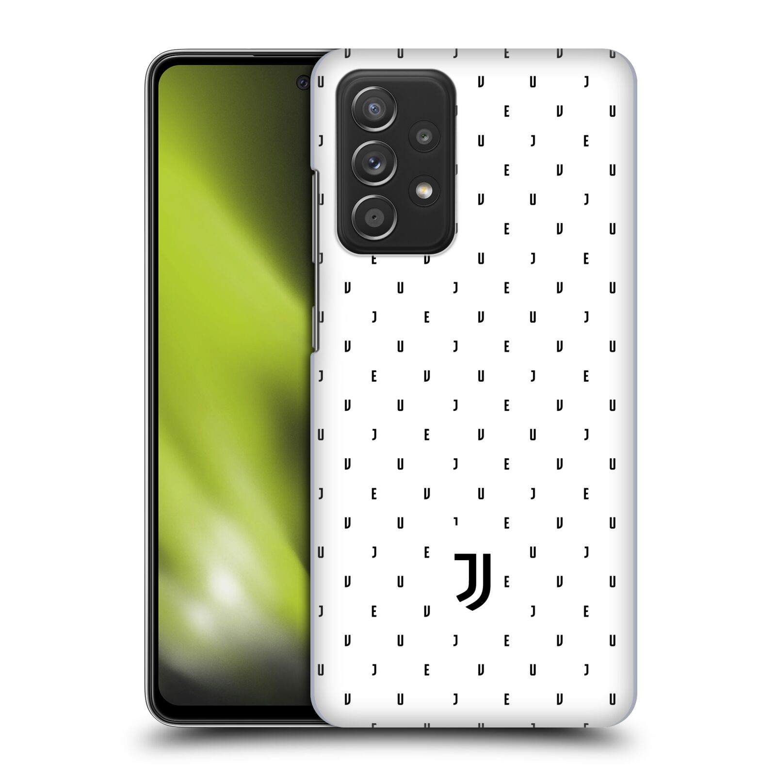 Plastové pouzdro na mobil Samsung Galaxy A52 / A52 5G / A52s 5G - Head Case - Juventus FC - Nové logo - Decentní