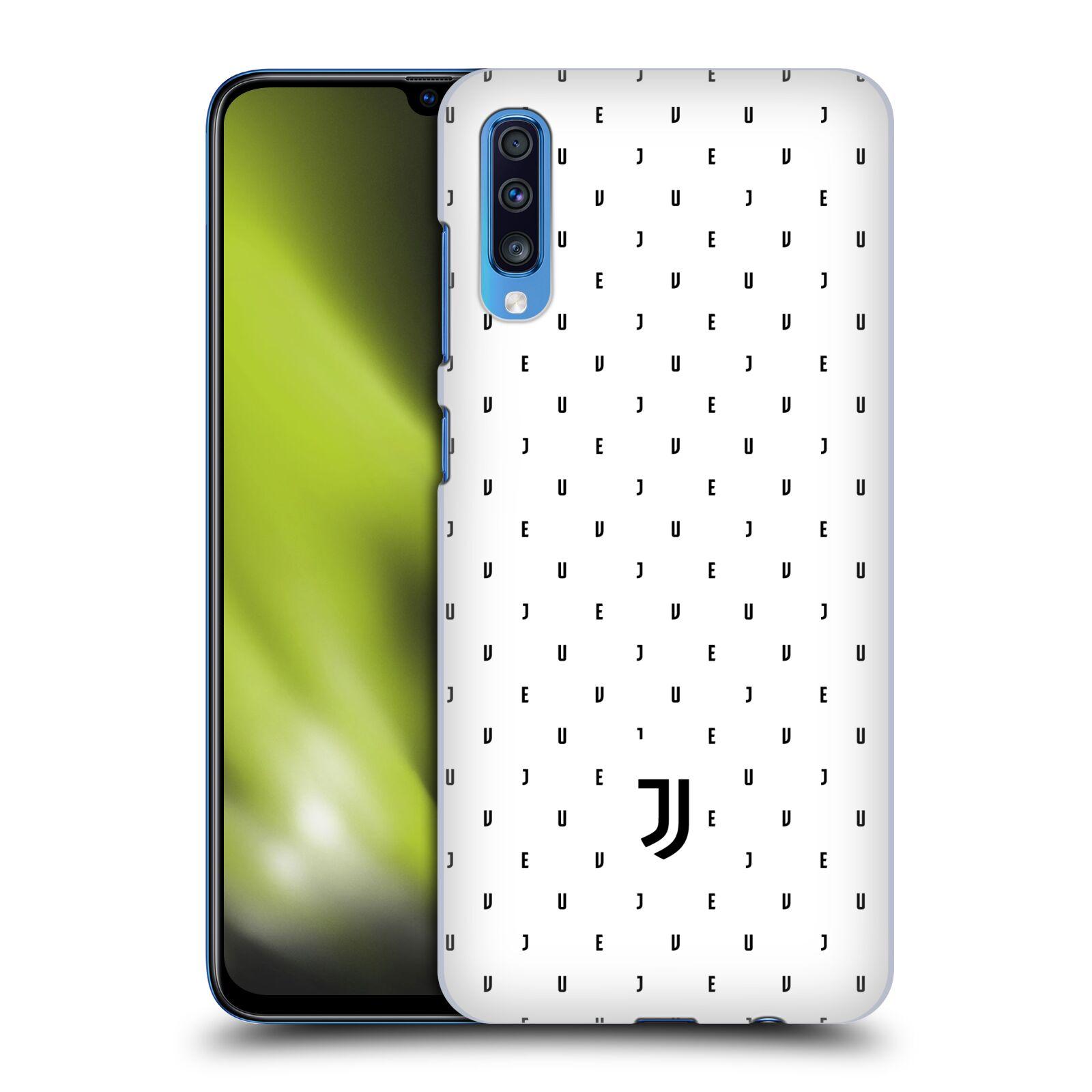 Plastové pouzdro na mobil Samsung Galaxy A70 - Head Case - Juventus FC - Nové logo - Decentní