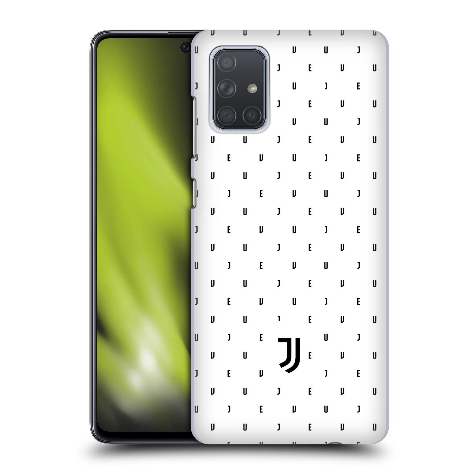Plastové pouzdro na mobil Samsung Galaxy A71 - Head Case - Juventus FC - Nové logo - Decentní