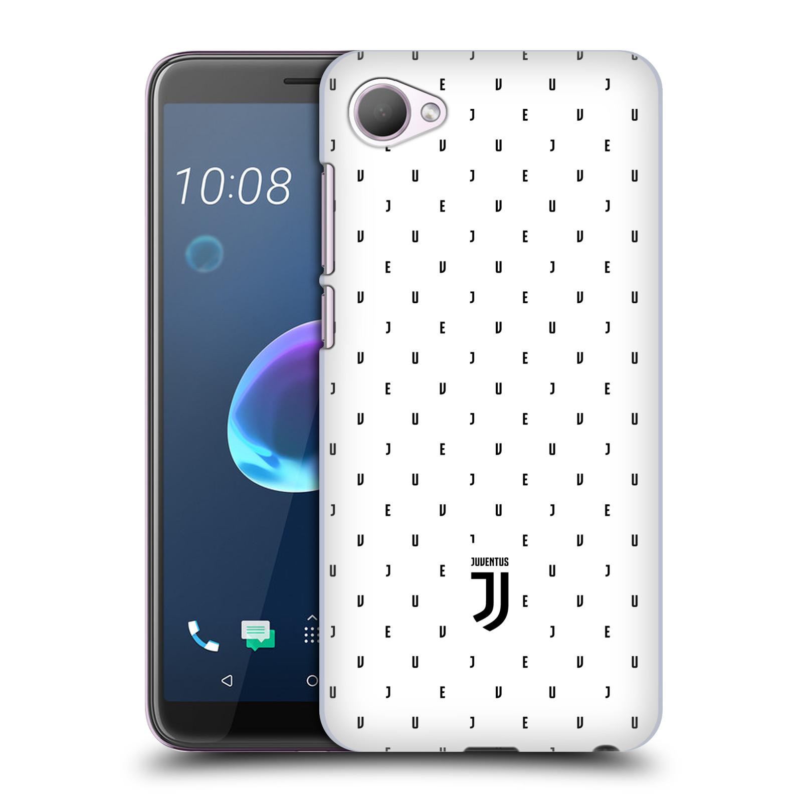 Plastové pouzdro na mobil HTC Desire 12 - Head Case - Juventus FC - Nové logo - Decentní