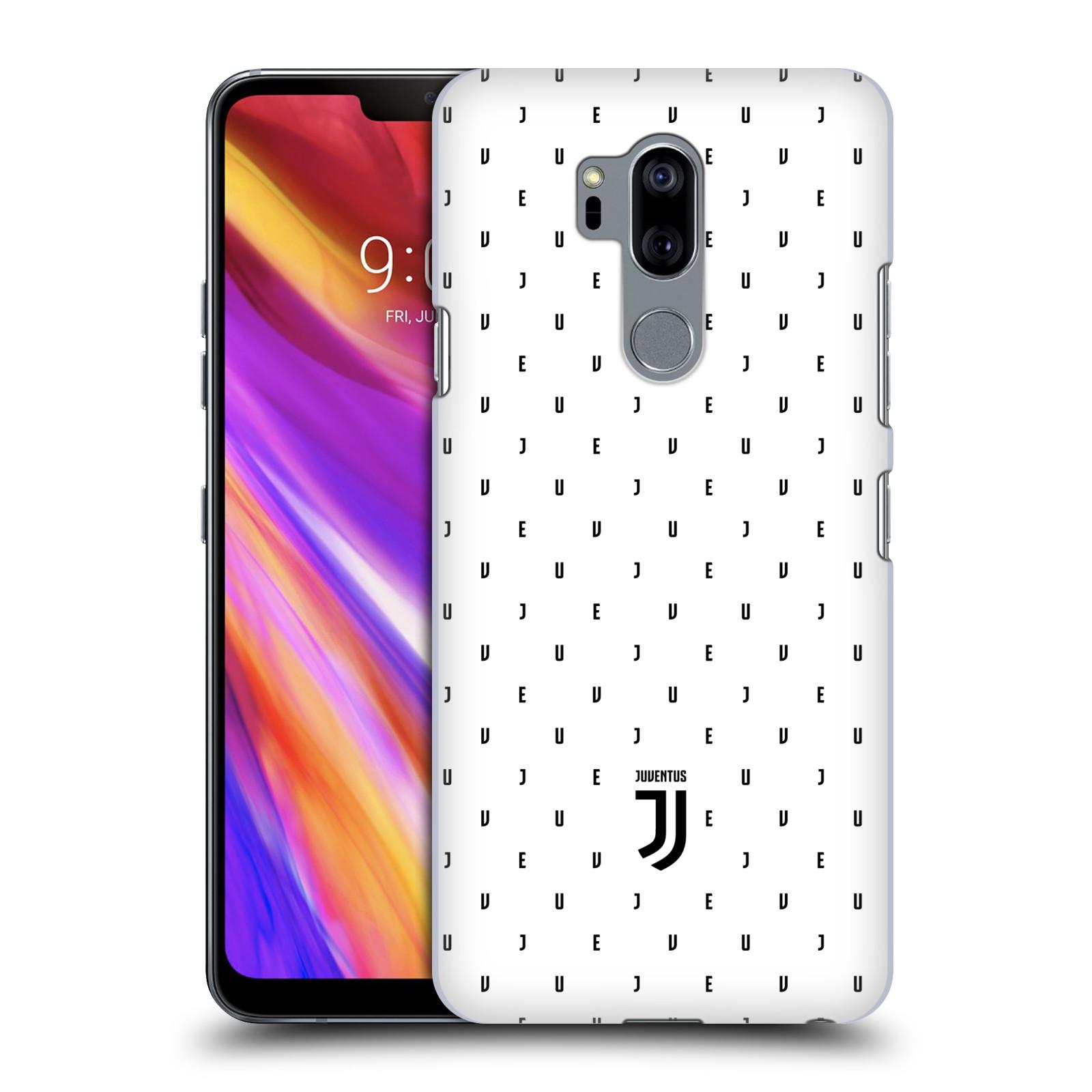 Plastové pouzdro na mobil LG G7 ThinQ - Head Case - Juventus FC - Nové logo - Decentní
