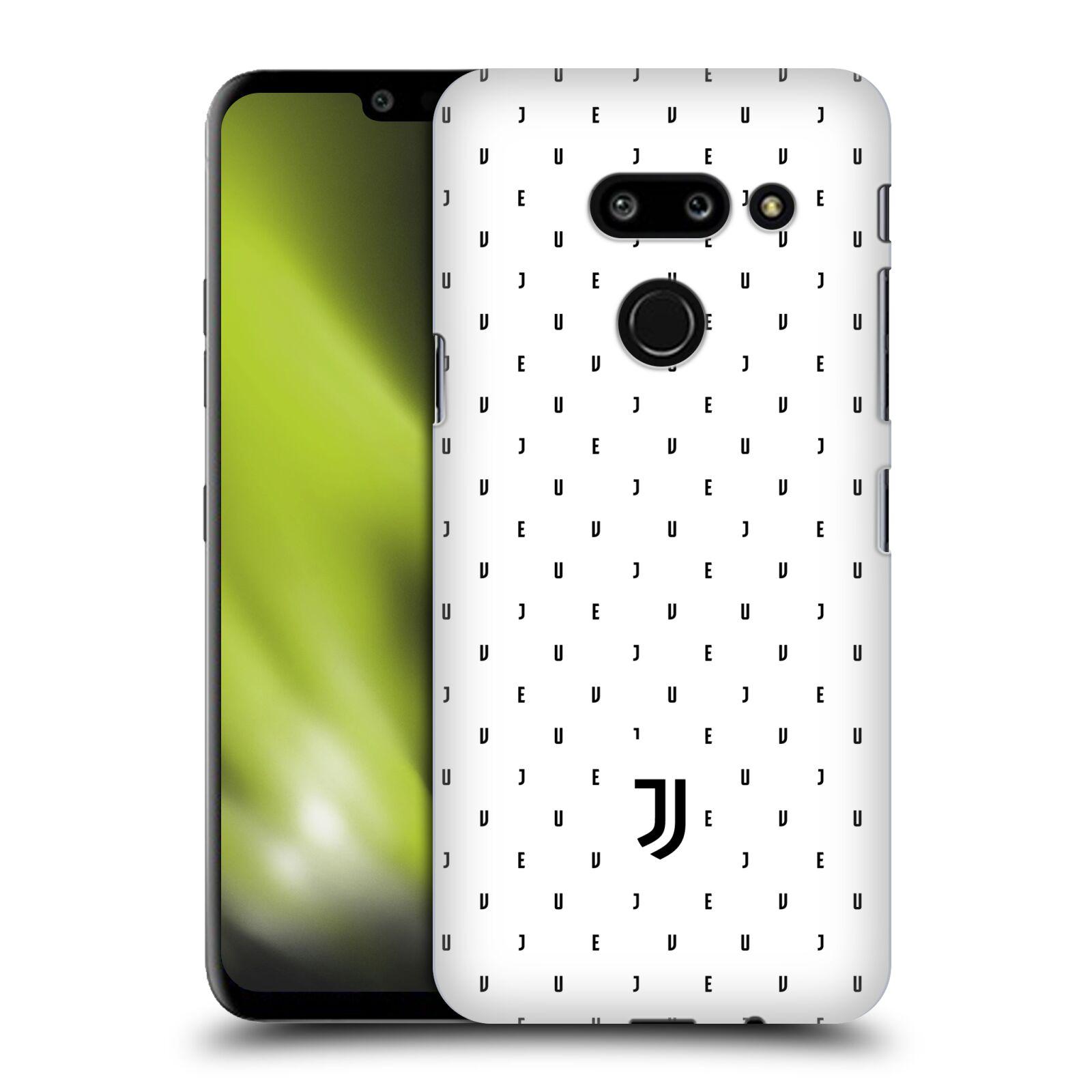 Plastové pouzdro na mobil LG G8 ThinQ - Head Case - Juventus FC - Nové logo - Decentní