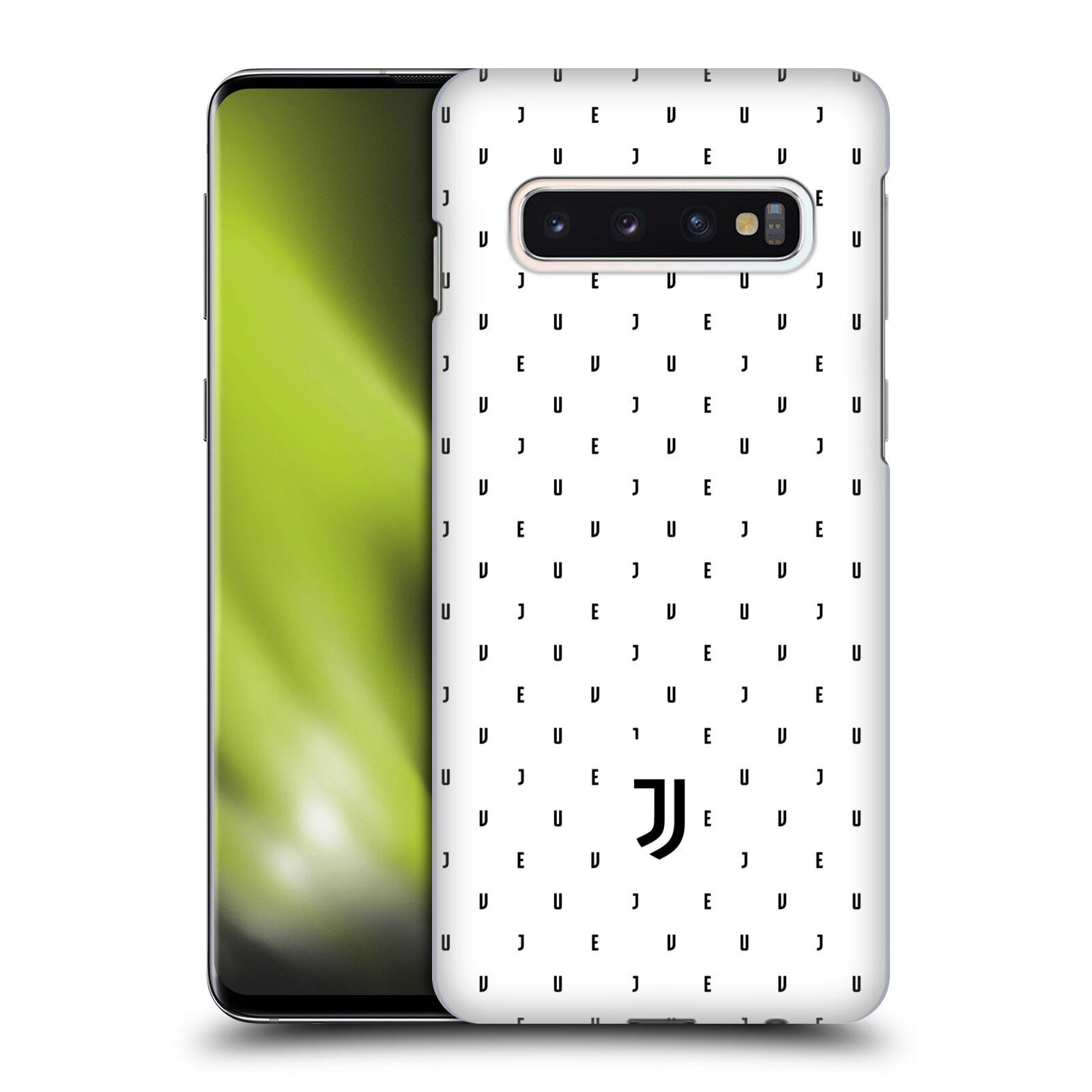 Plastové pouzdro na mobil Samsung Galaxy S10 - Head Case - Juventus FC - Nové logo - Decentní