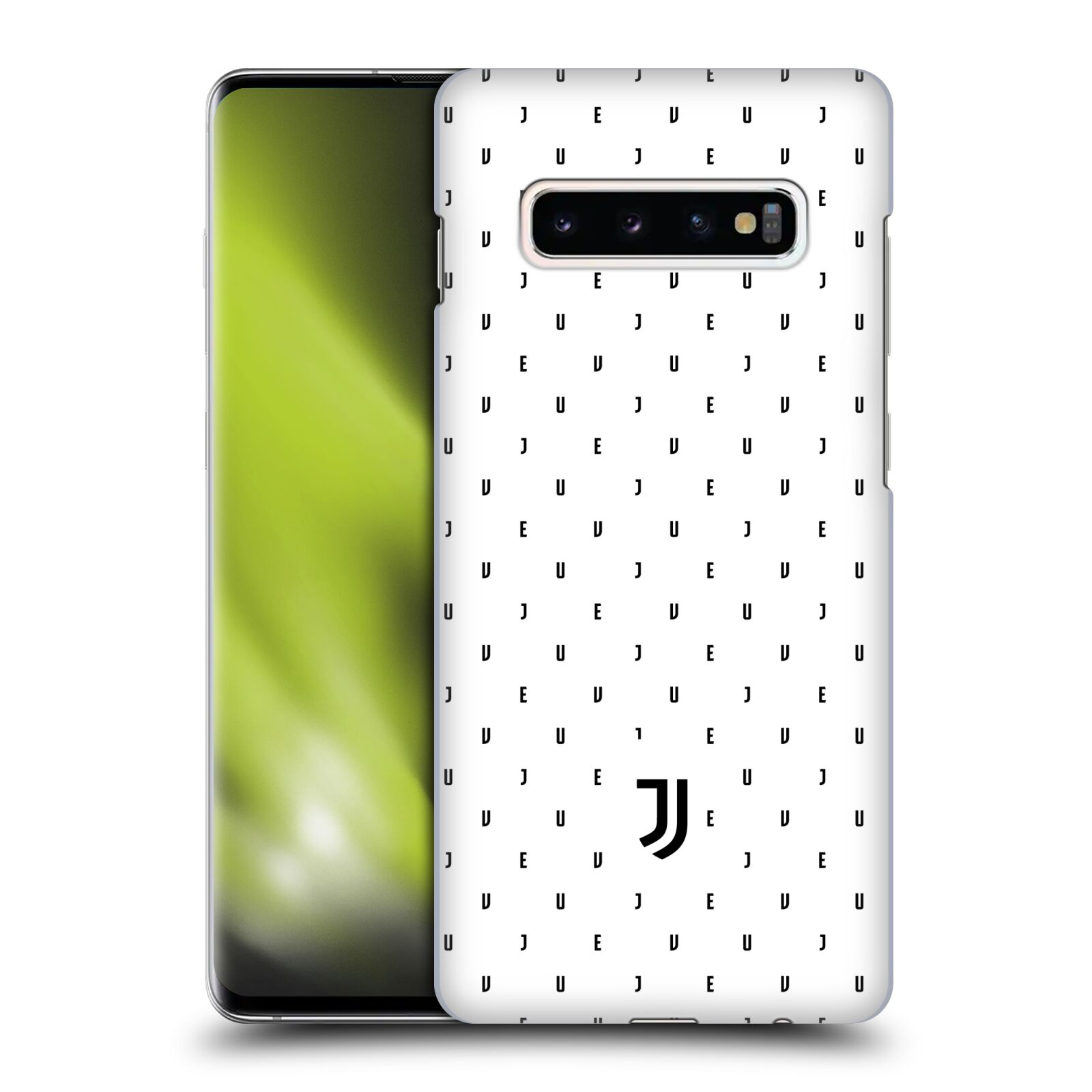 Plastové pouzdro na mobil Samsung Galaxy S10 Plus - Head Case - Juventus FC - Nové logo - Decentní