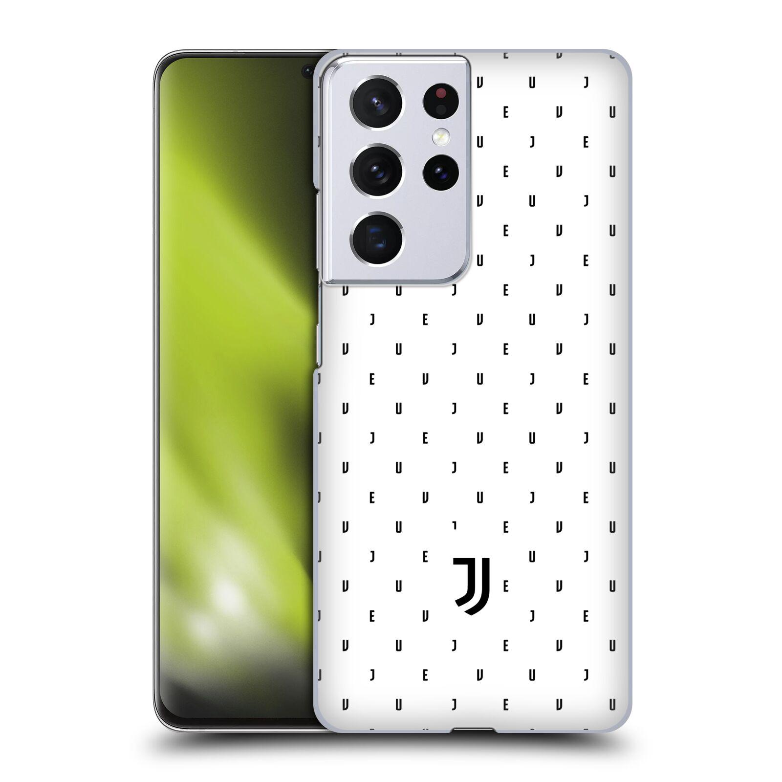 Plastové pouzdro na mobil Samsung Galaxy S21 Ultra 5G - Head Case - Juventus FC - Nové logo - Decentní