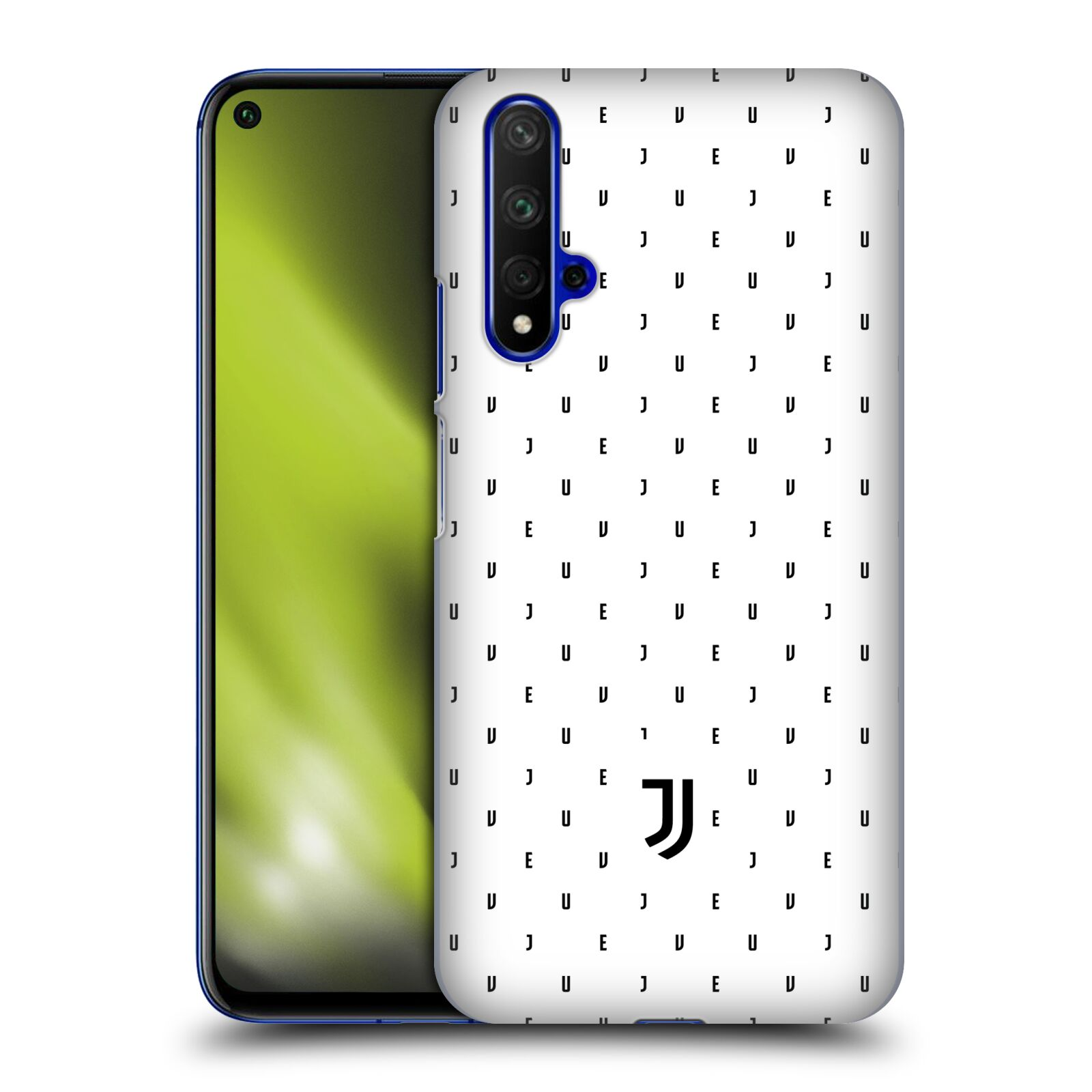 Plastové pouzdro na mobil Honor 20 - Head Case - Juventus FC - Nové logo - Decentní