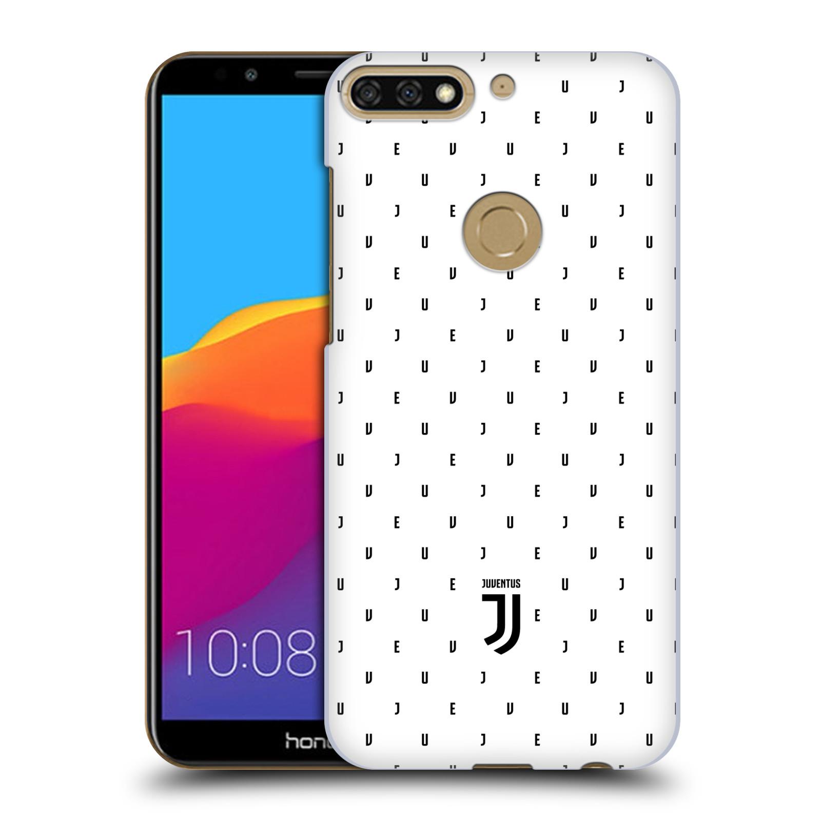 Plastové pouzdro na mobil Huawei Y7 Prime 2018 - Head Case - Juventus FC - Nové logo - Decentní