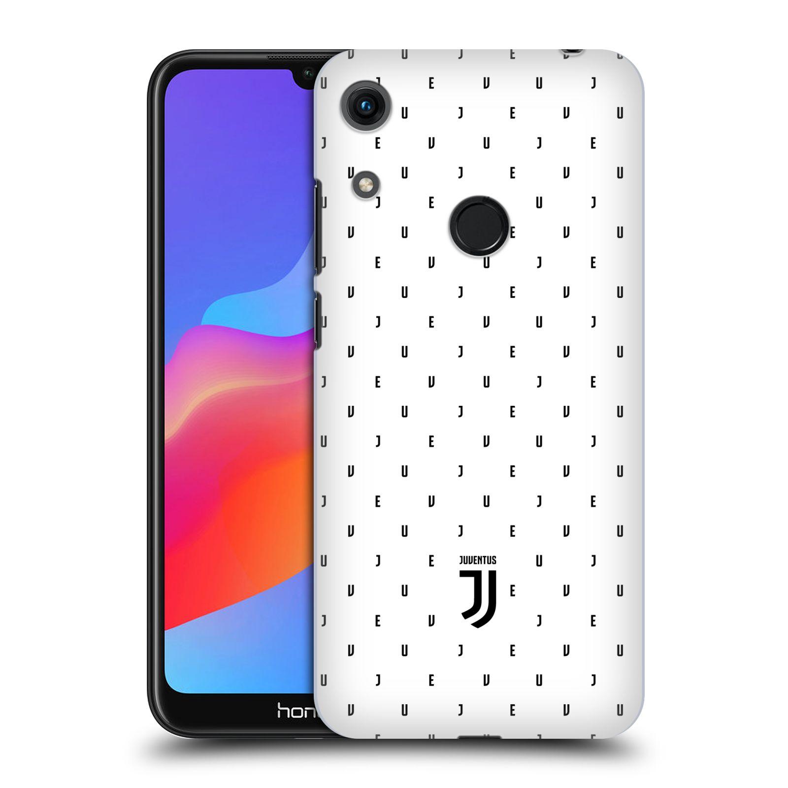 Plastové pouzdro na mobil Honor 8A - Head Case - Juventus FC - Nové logo - Decentní