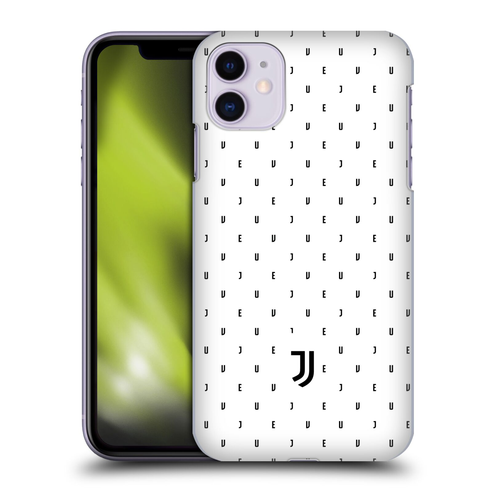 Plastové pouzdro na mobil Apple iPhone 11 - Head Case - Juventus FC - Nové logo - Decentní