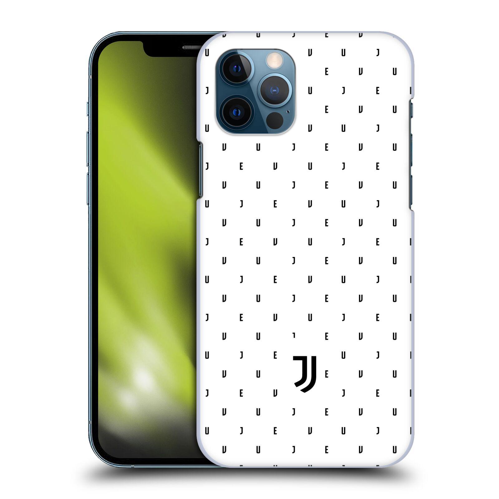 Plastové pouzdro na mobil Apple iPhone 12 / 12 Pro - Head Case - Juventus FC - Nové logo - Decentní