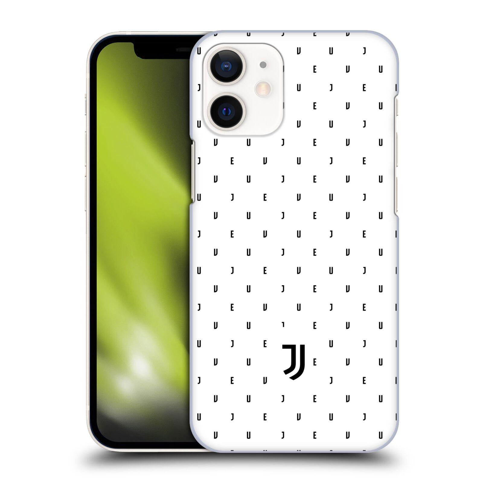 Plastové pouzdro na mobil Apple iPhone 12 Mini - Head Case - Juventus FC - Nové logo - Decentní