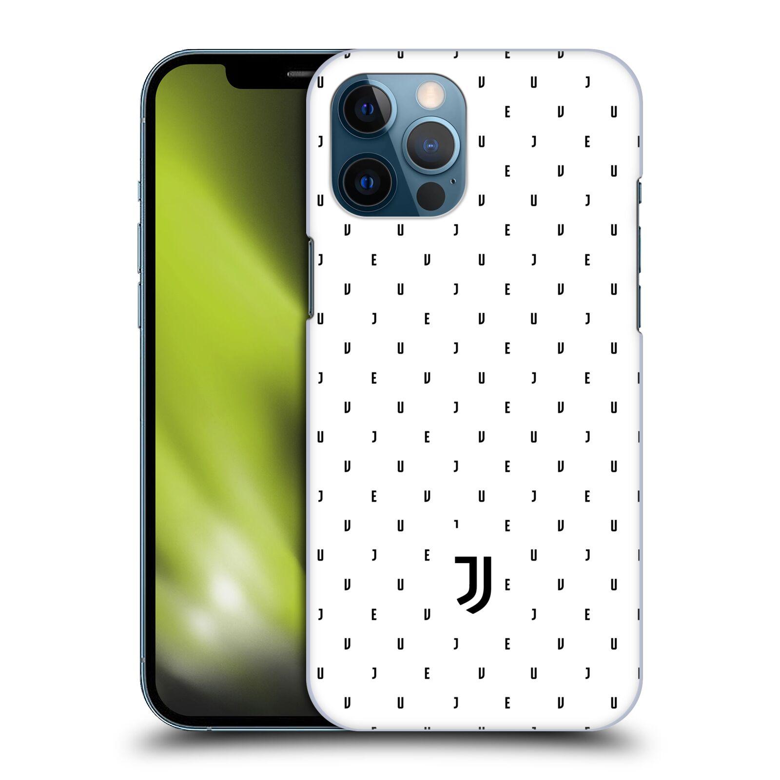 Plastové pouzdro na mobil Apple iPhone 12 Pro Max - Head Case - Juventus FC - Nové logo - Decentní