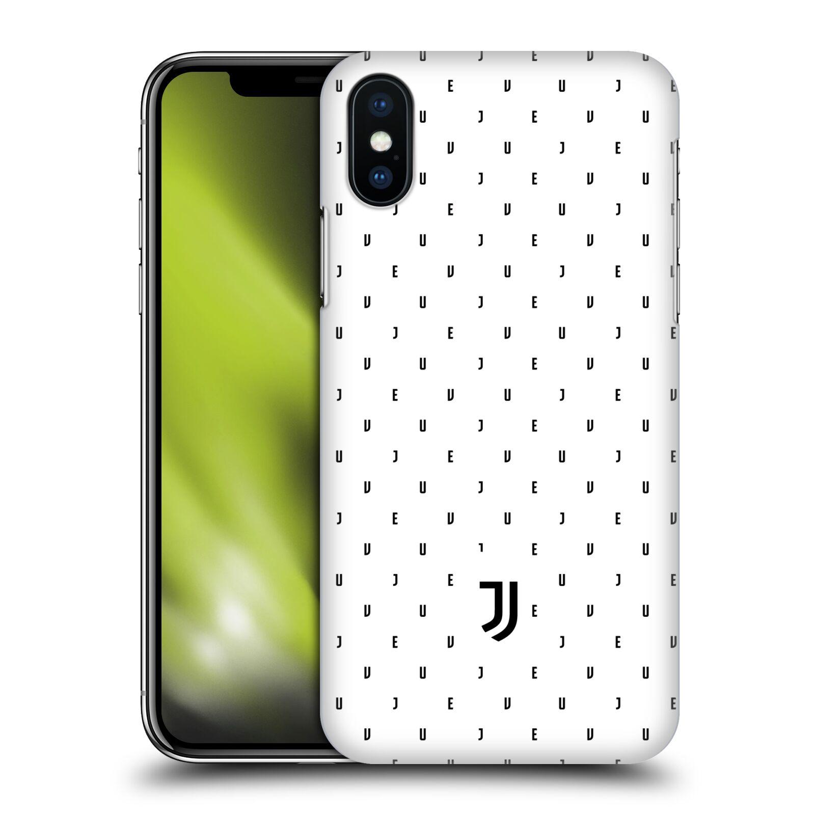 Plastové pouzdro na mobil Apple iPhone XS - Head Case - Juventus FC - Nové logo - Decentní