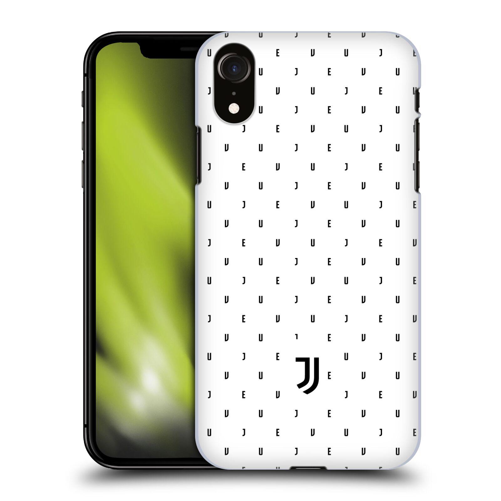Plastové pouzdro na mobil Apple iPhone XR - Head Case - Juventus FC - Nové logo - Decentní