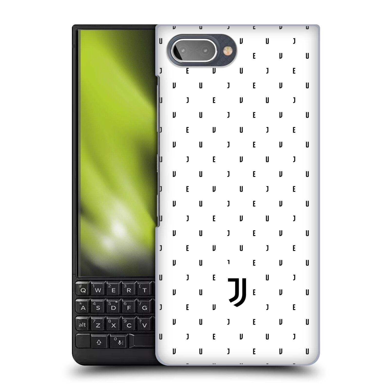 Plastové pouzdro na mobil Blackberry Key 2 - Head Case - Juventus FC - Nové logo - Decentní