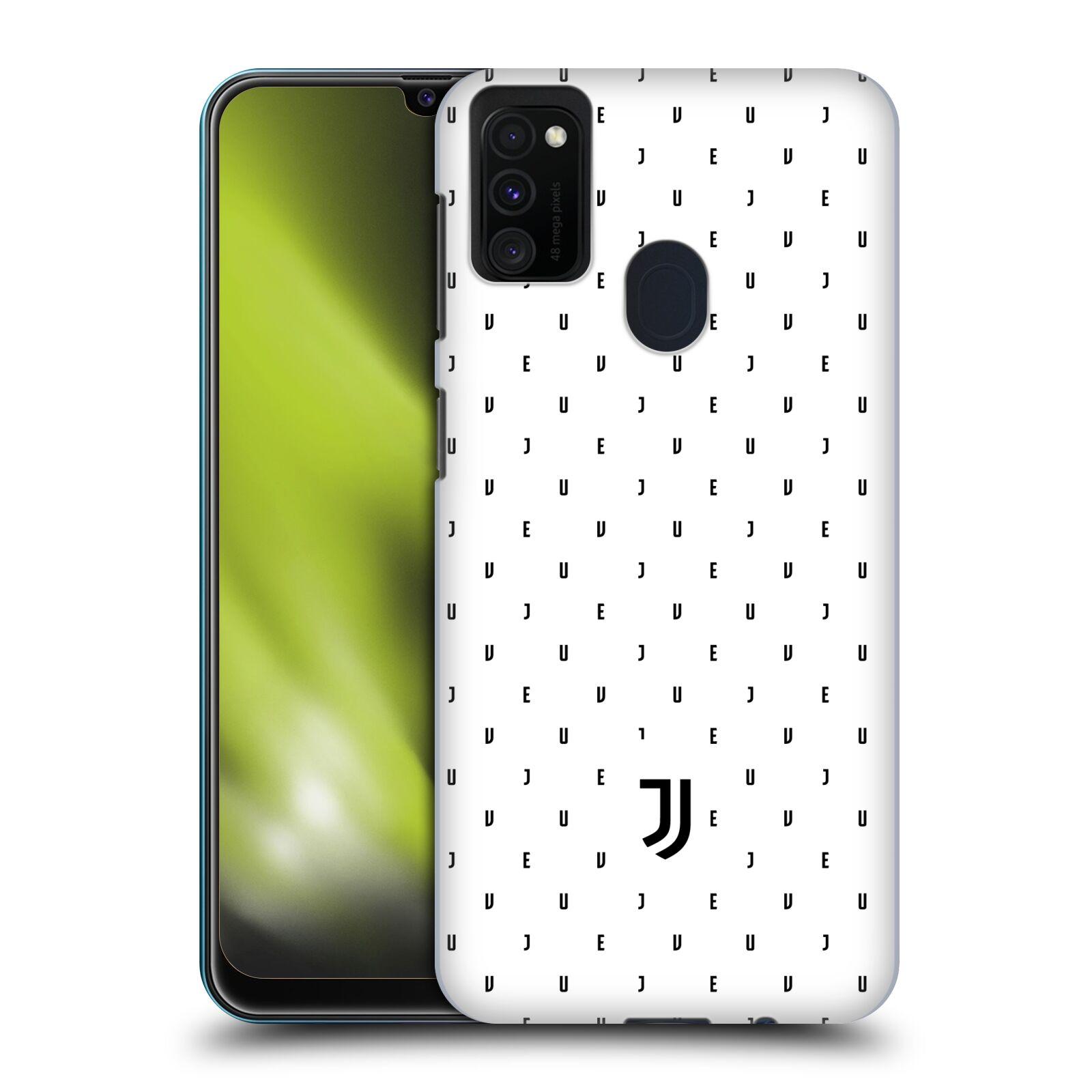 Plastové pouzdro na mobil Samsung Galaxy M21 - Head Case - Juventus FC - Nové logo - Decentní