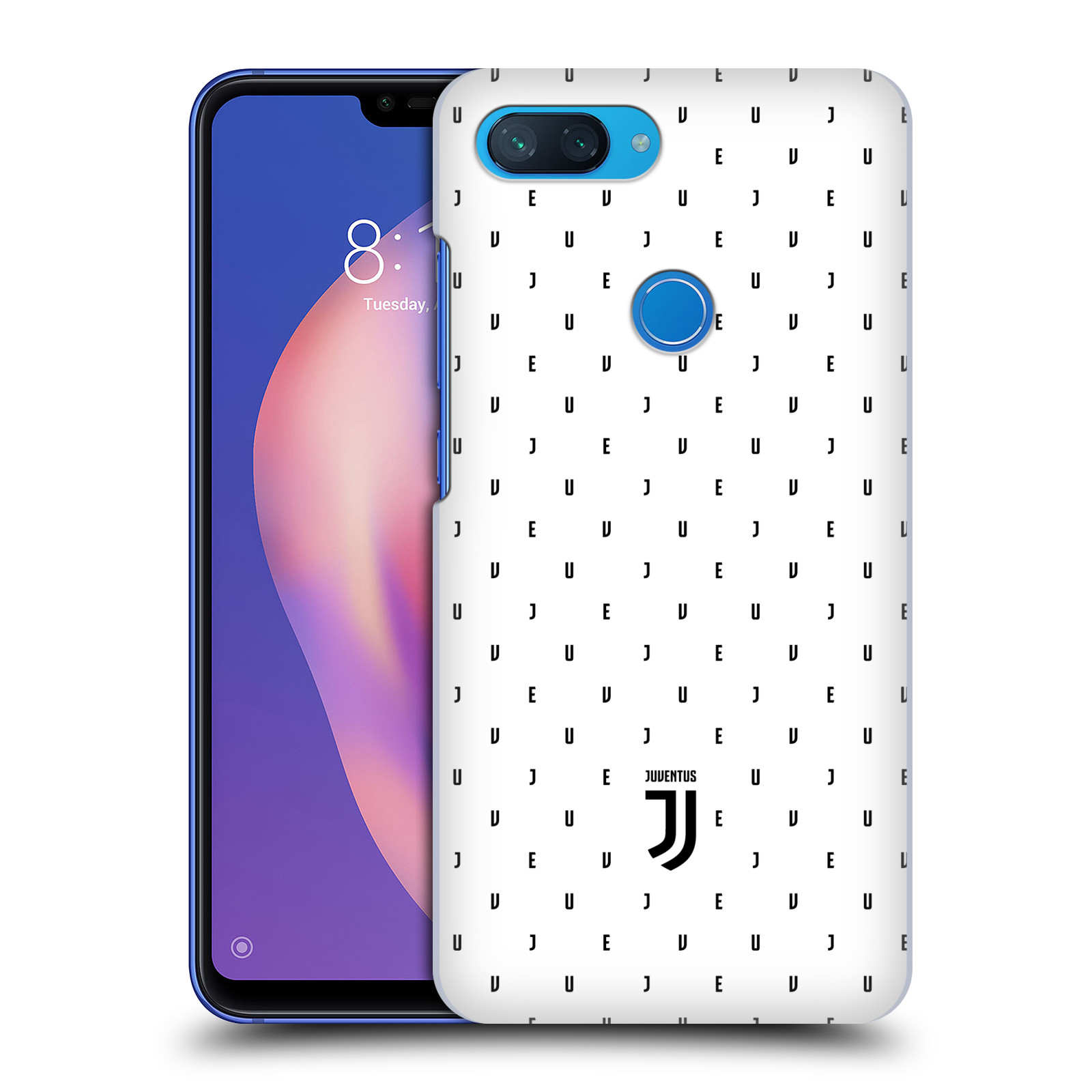 Plastové pouzdro na mobil Xiaomi Mi 8 Lite - Head Case - Juventus FC - Nové logo - Decentní