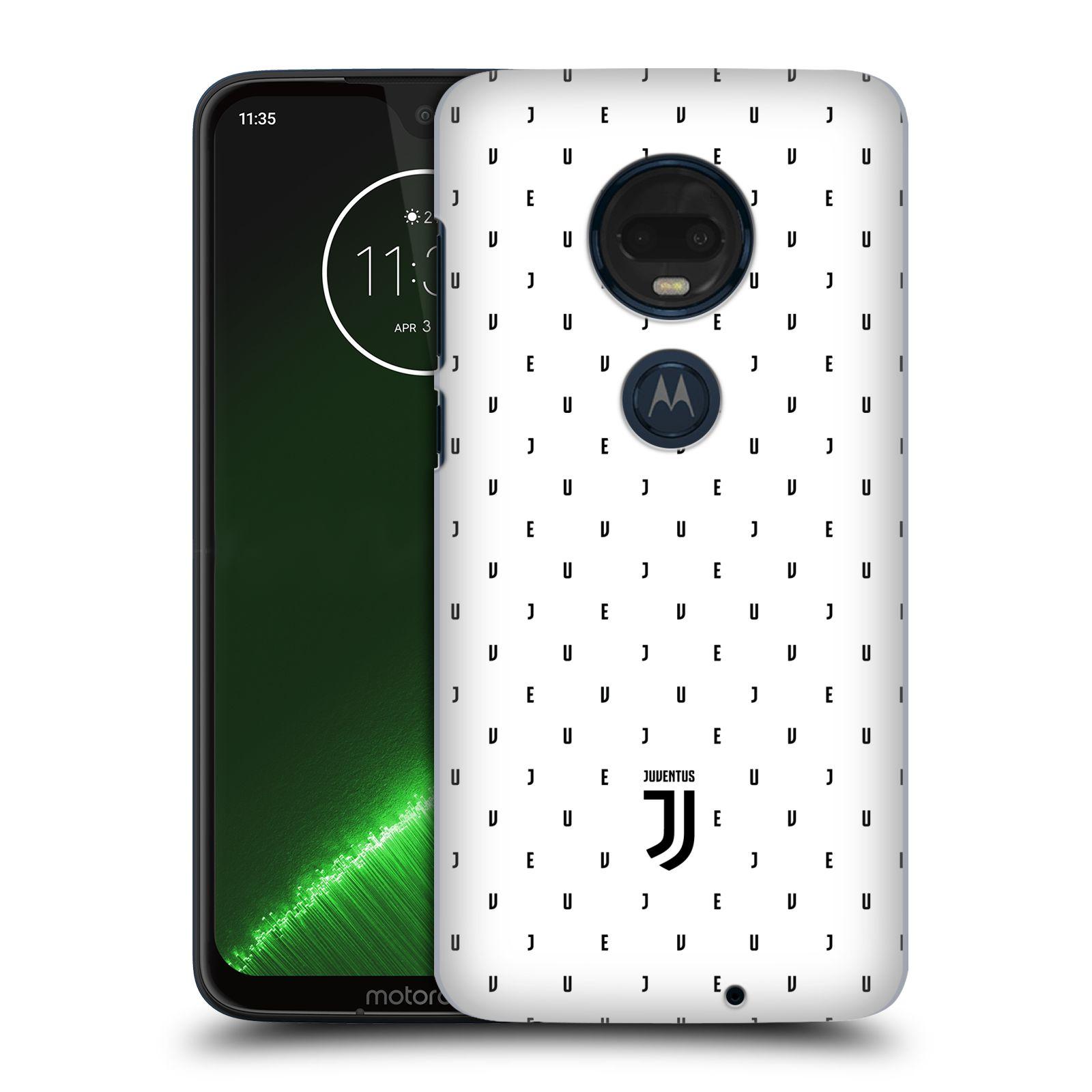 Plastové pouzdro na mobil Motorola Moto G7 Plus - Head Case - Juventus FC - Nové logo - Decentní